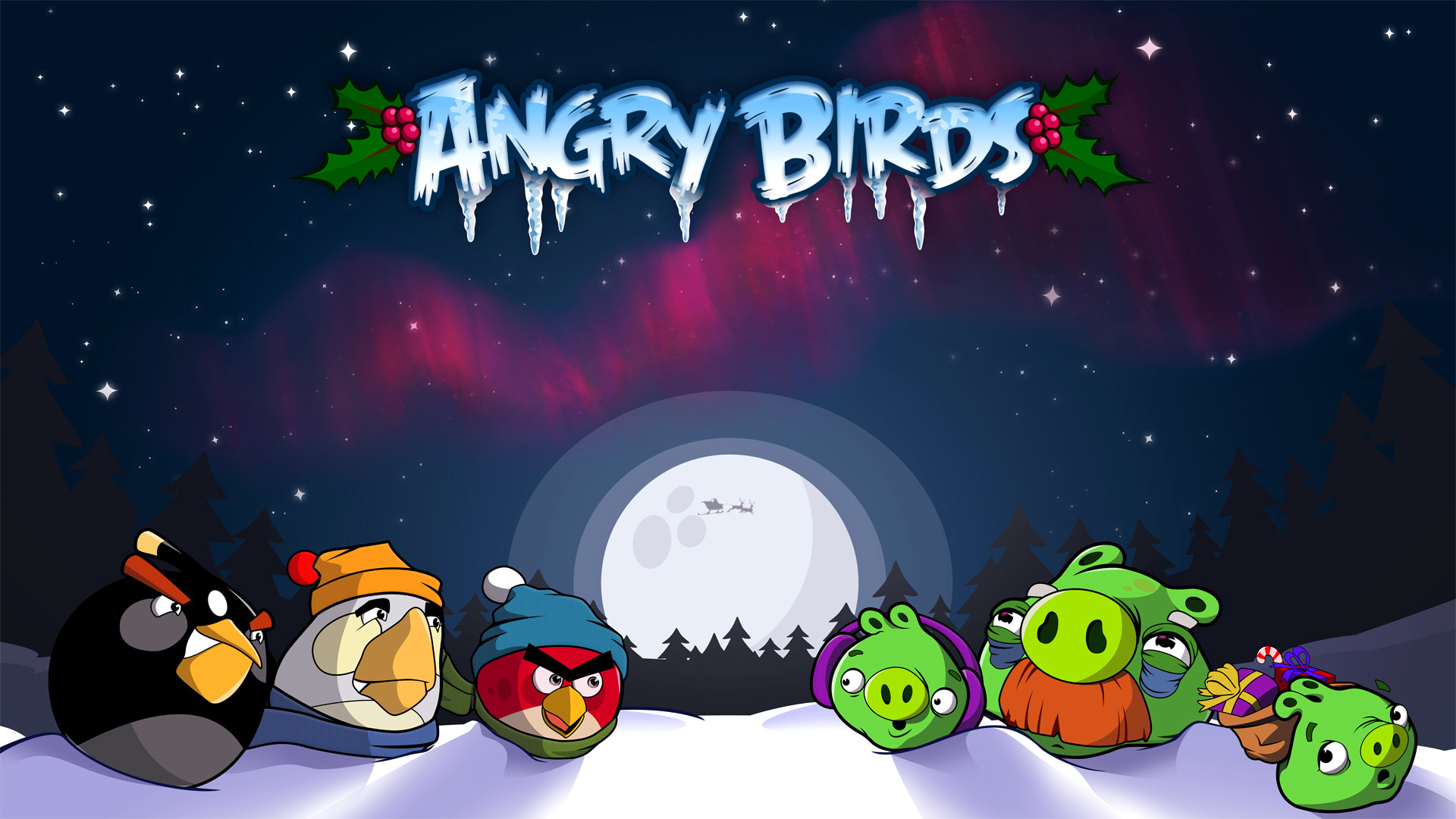 1920x1080 Download The Latest angry birds christmas Wallpapers & Pictures From  Wallpapers111.