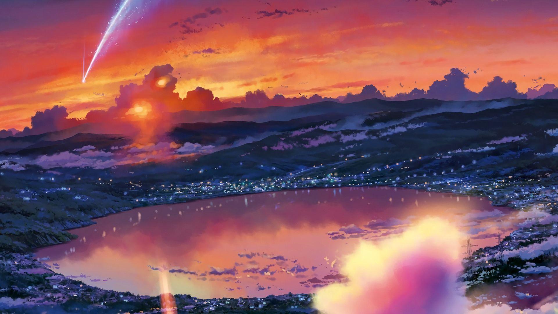 Kimi no na wa wallpapers 74 images - Anime scenery wallpaper laptop ...