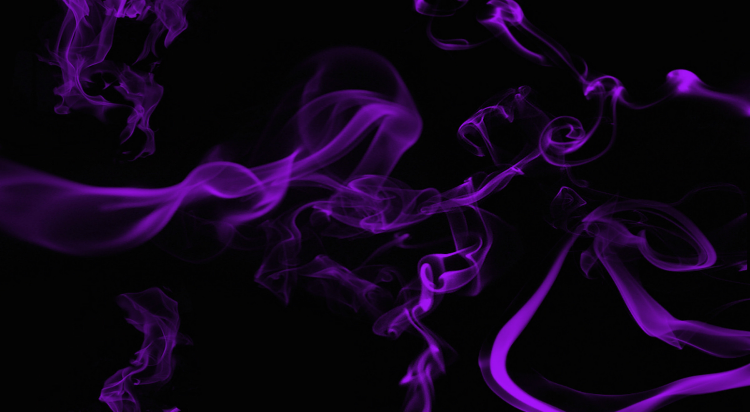 2400x1320 Abstract - Smoke Purple Somke Wallpaper
