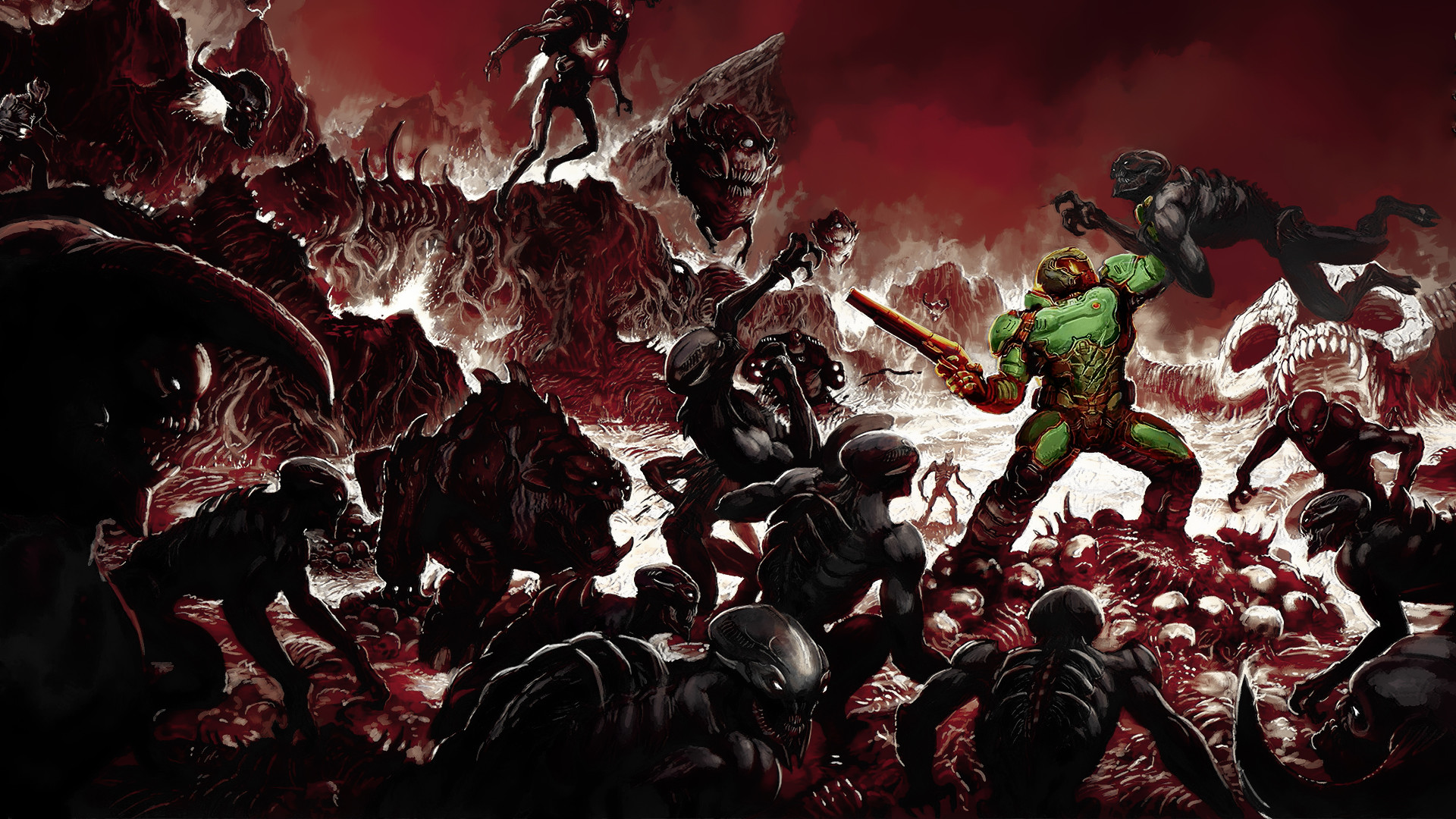 1920x1080 DOOM 2016 HD Pictures Full Hd Wallpapers
