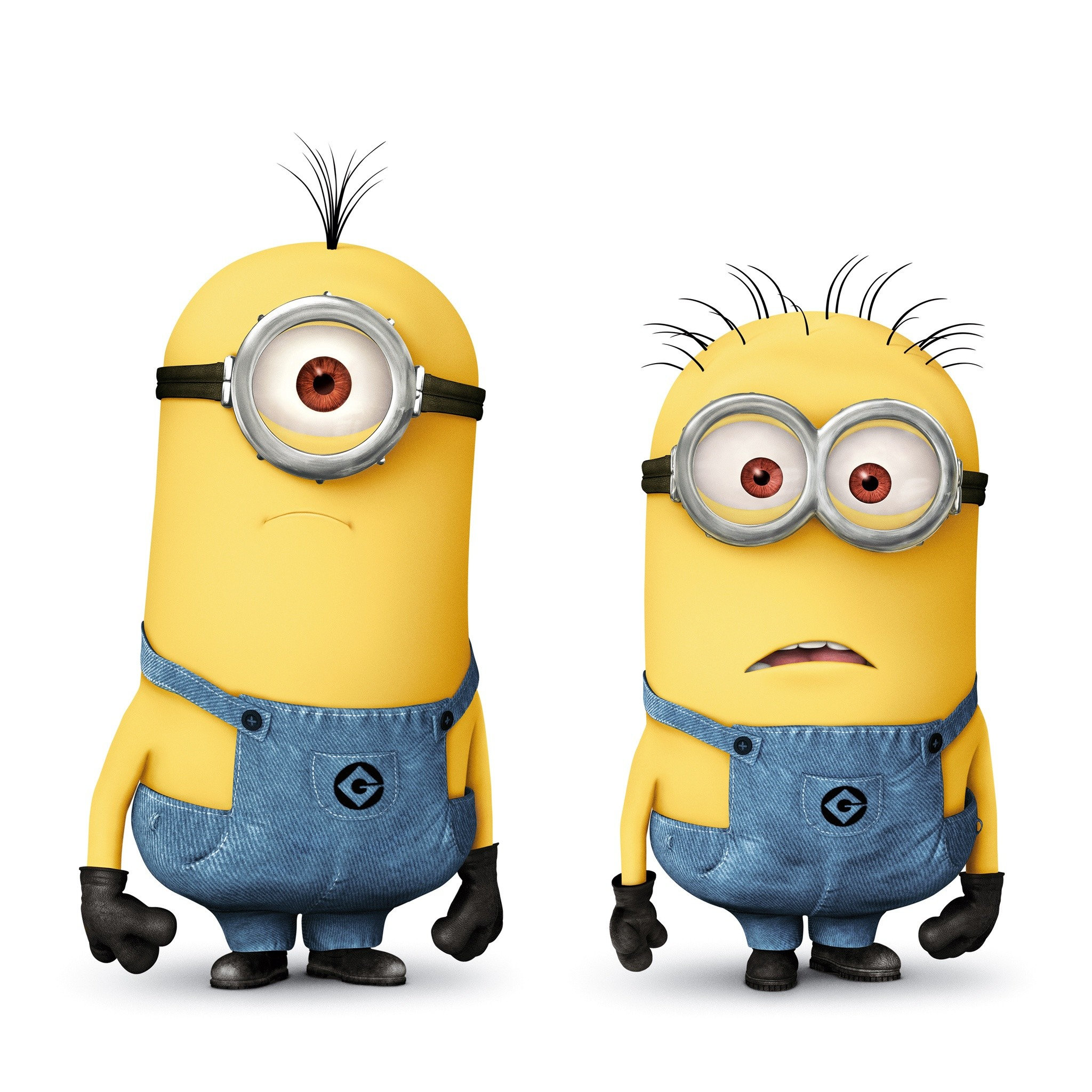 2048x2048 minions | Minions in Despicable Me 2 HD Wallpaper - iHD Wallpapers