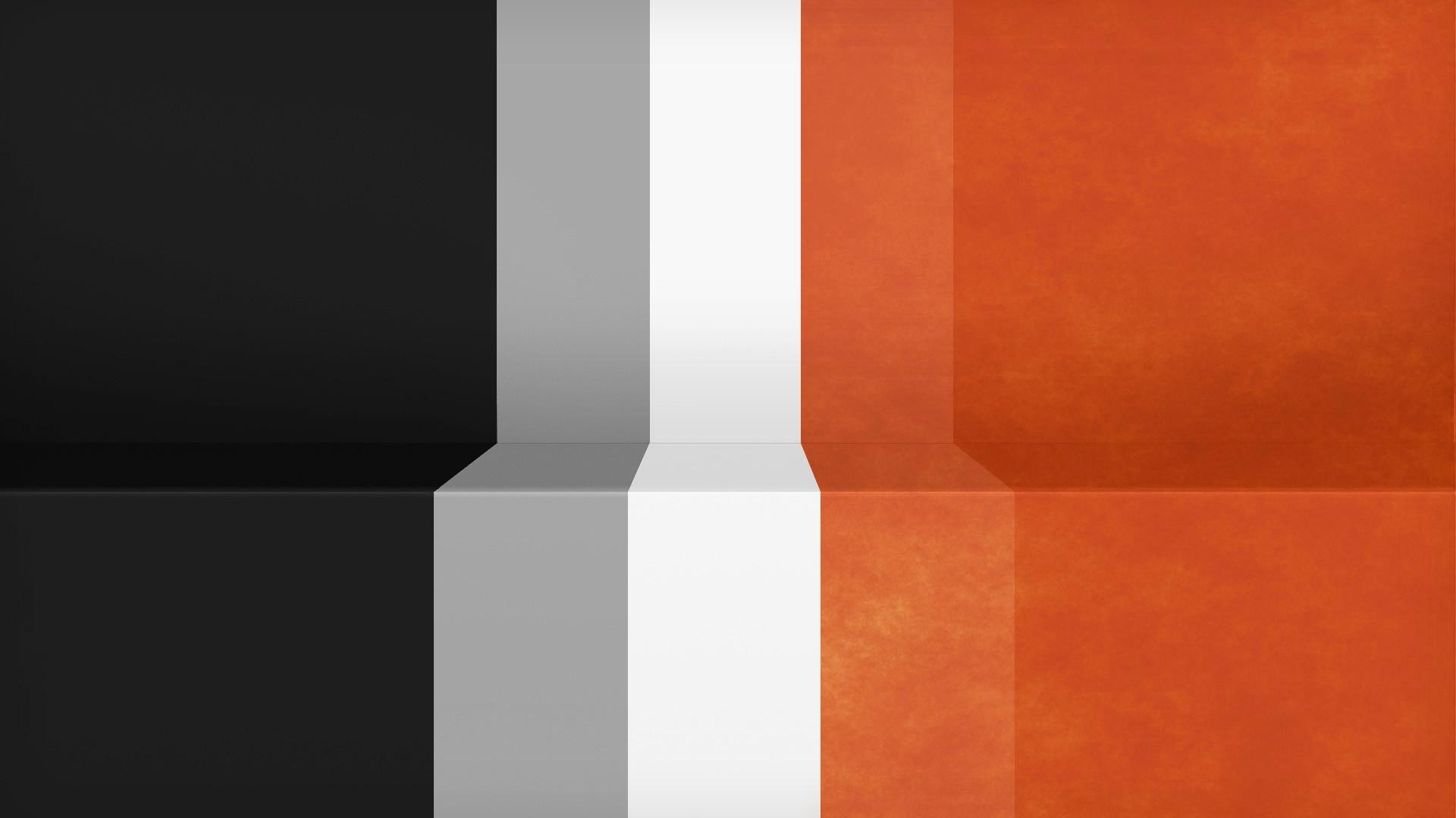 1920x1080 Abstract-black-minimalistic-white-orange-gray -textures-lines-racing-Lack-simple-stripes-Shading-wall-wallpaper-wpt7001680