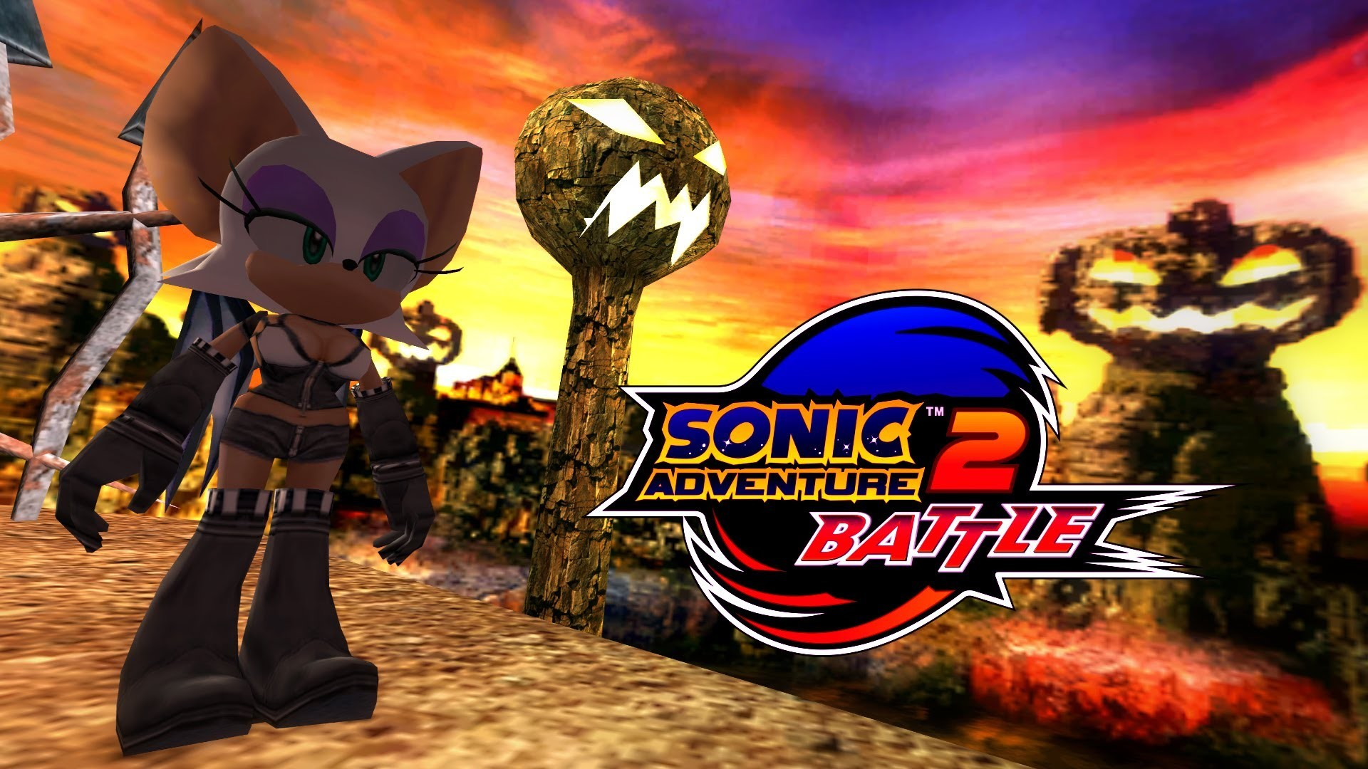 1920x1080 Sonic Adventure 2: Battle - Pumpkin Hill - Rouge (Alt. costume) [REAL Full  HD, Widescreen] 60 FPS - YouTube