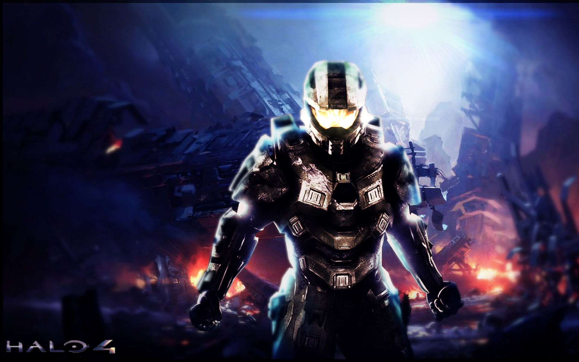 1920x1200 halo 4 wallpaper - red - blue