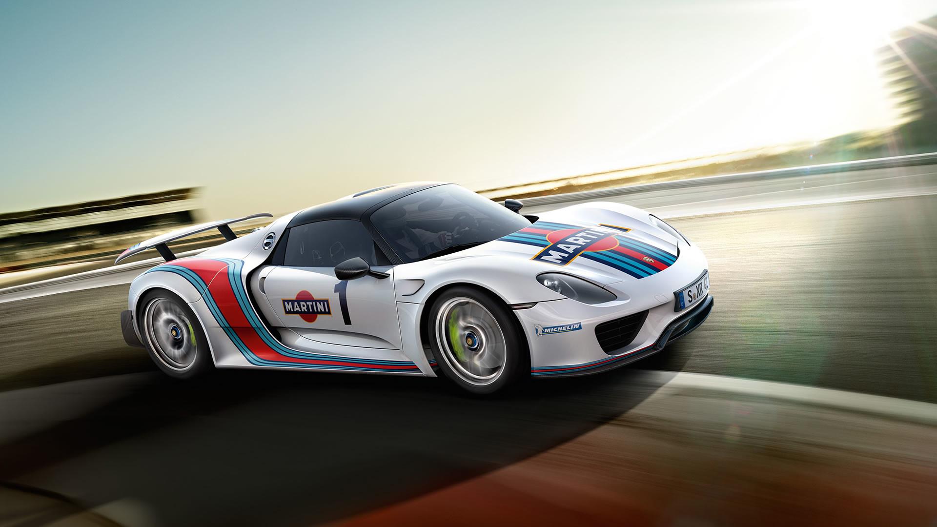 1920x1080 Porsche 918 Wallpaper Martini
