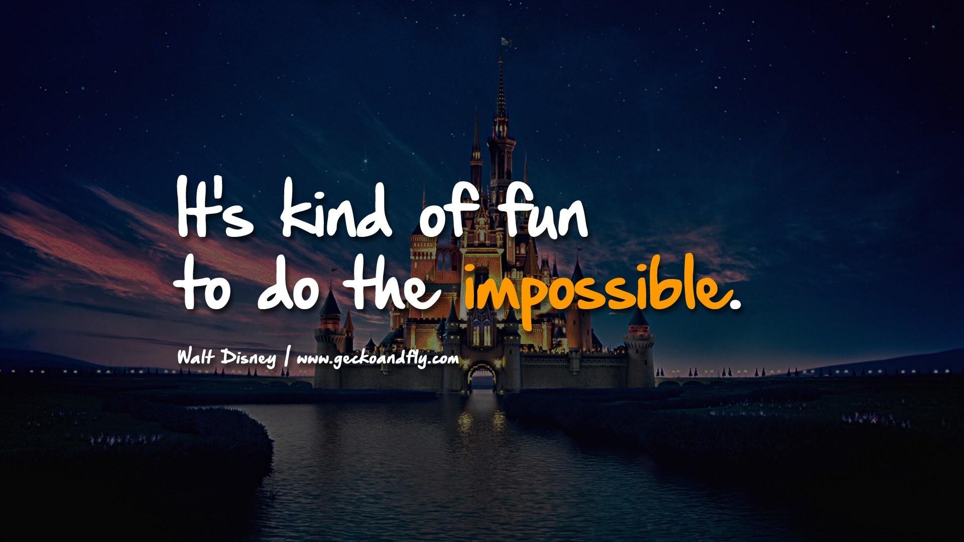 1920x1080 Walt Disney Quotes Wallpaper