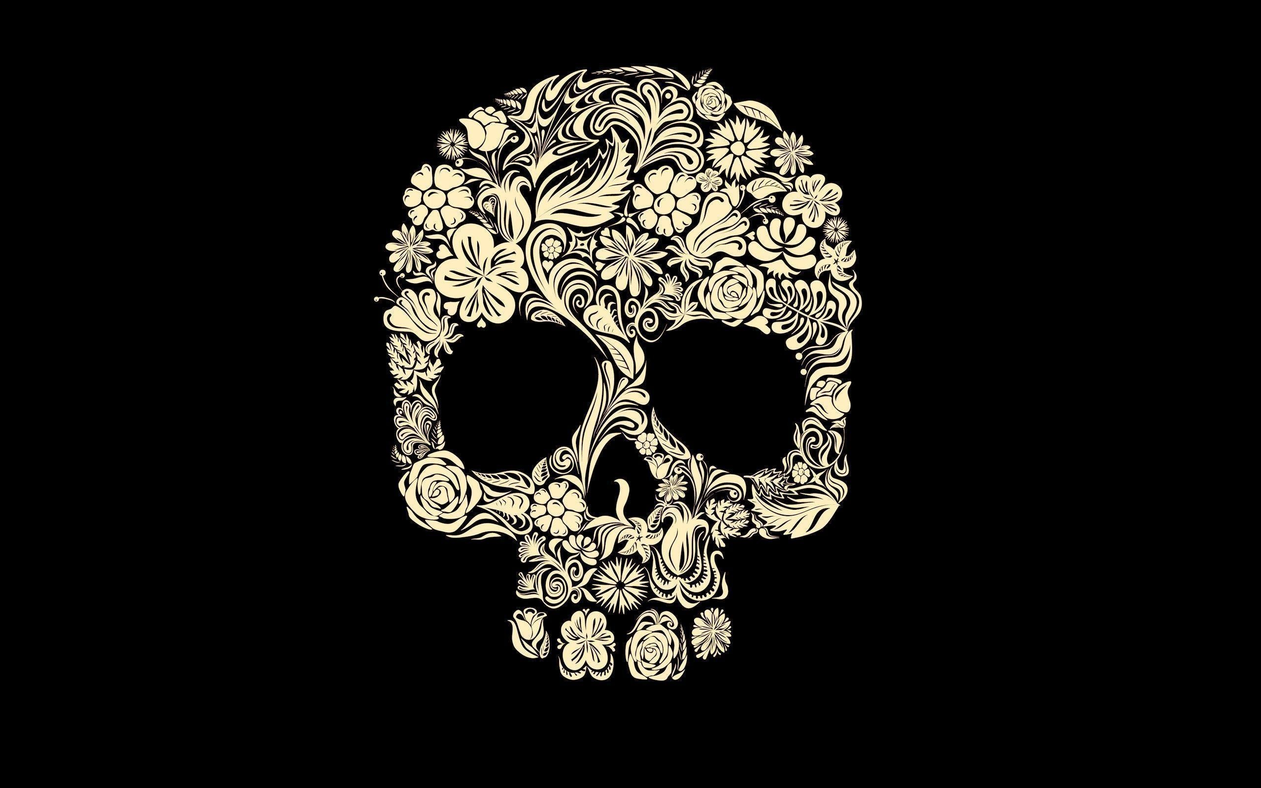 christmas skulls wallpapers (49+ images)