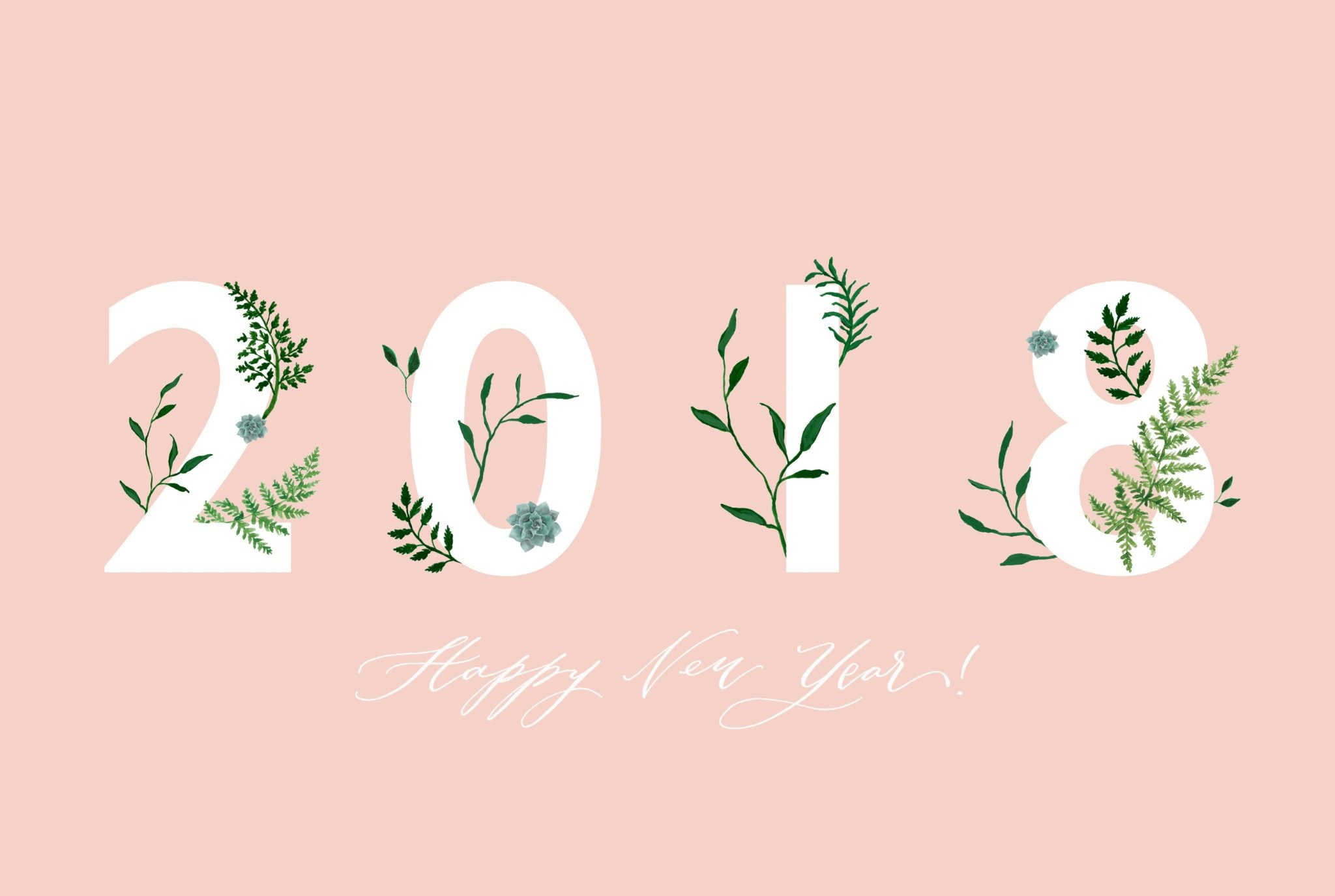 2048x1375 Baby Chick January Desktop Wallpaper | We've partnered with Rachel from  Half Moon Lettering