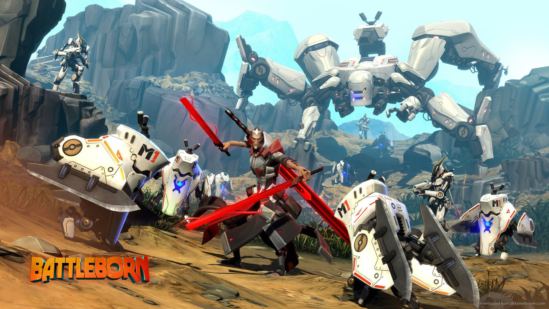 1920x1080 2016 Battleborn Video Game Wallpaper picture