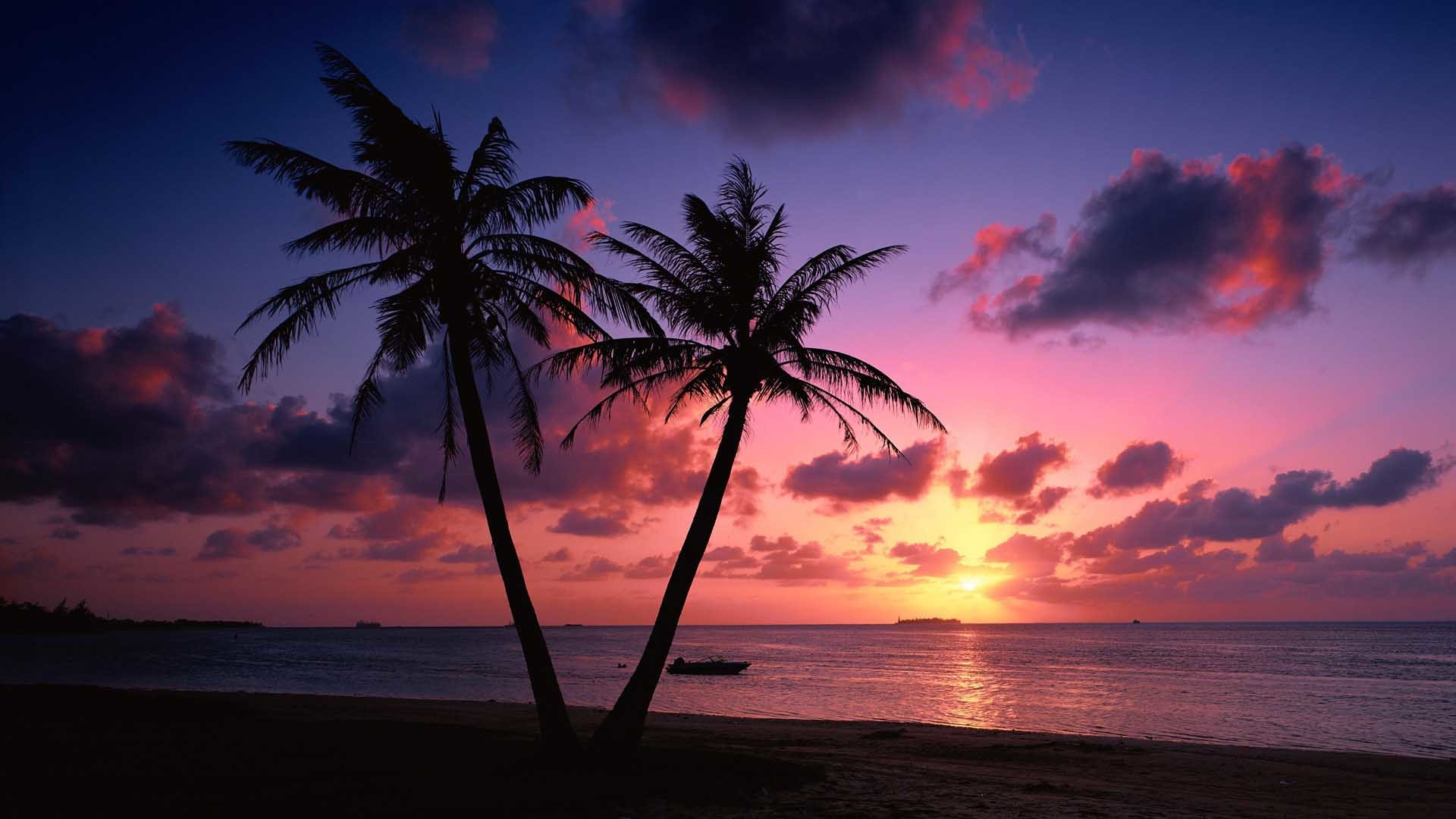 Beach Sunset Desktop Wallpaper 70 Images