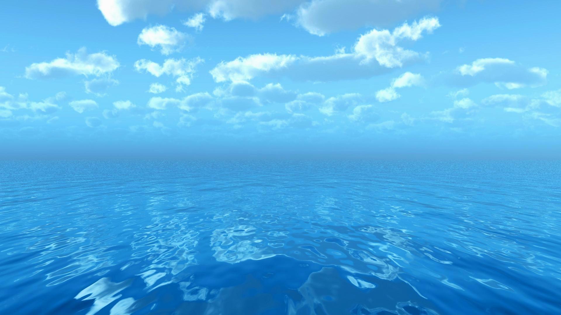 Dark blue ocean wallpaper