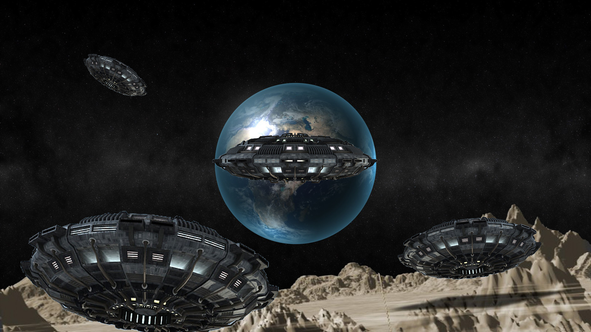 1920x1080 NASA HD Gallery | Gallery : UFOnederland Full HD UFO Wallpaper /  Space-earth-
