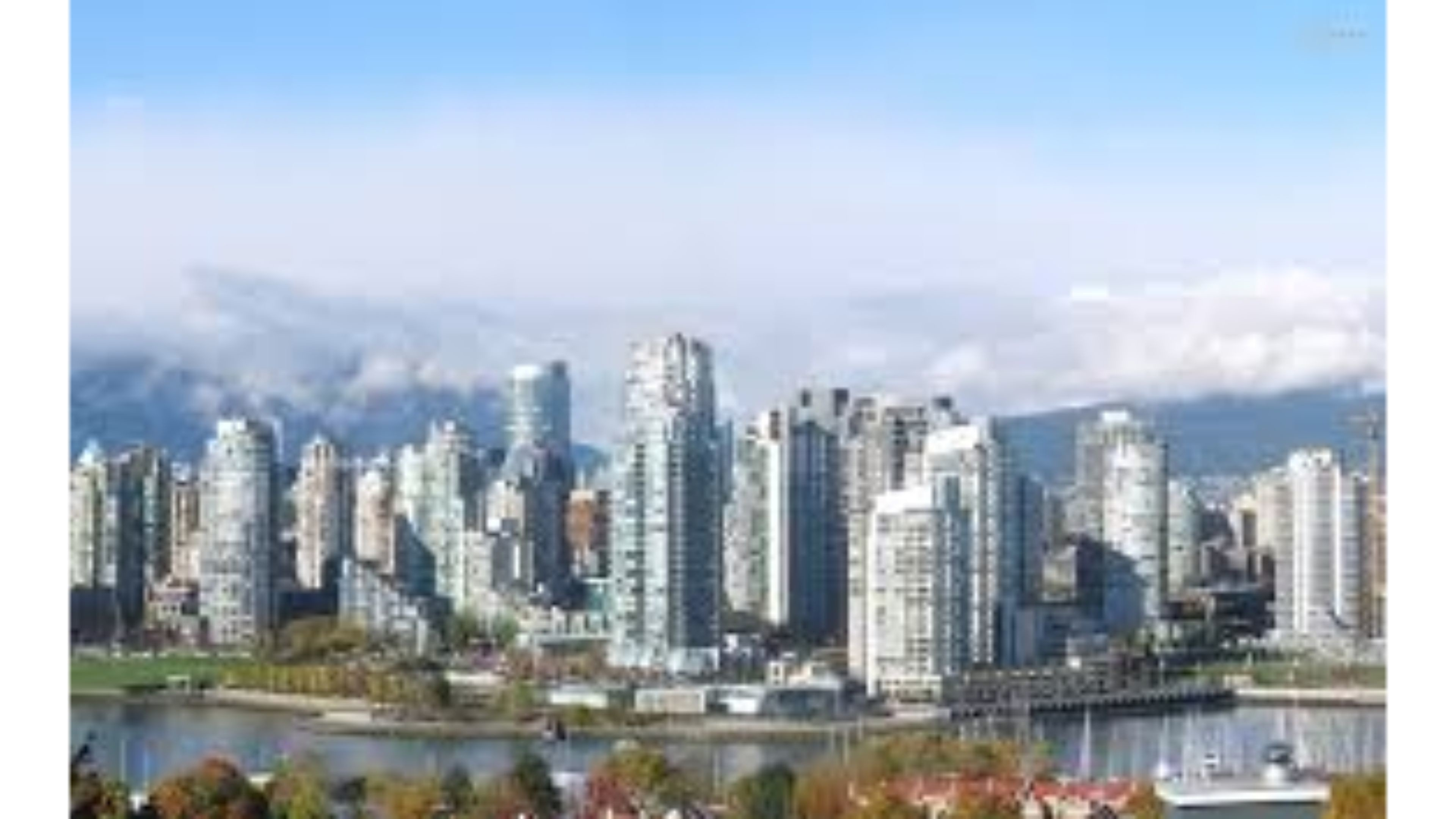 3840x2160 Skyline 4K Vancouver Canada Wallpaper