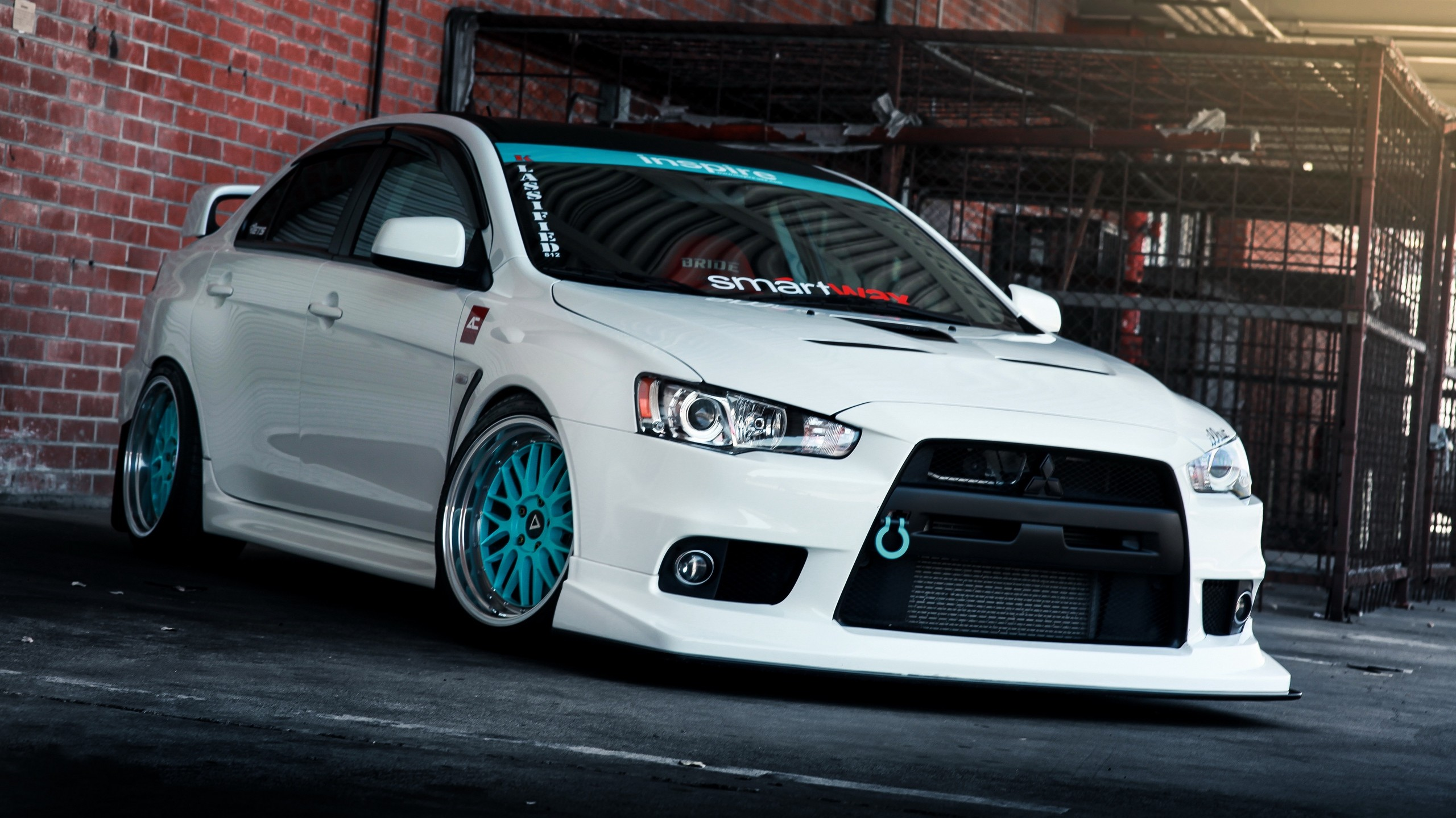 2560x1440  Wallpaper mitsubishi lancer, evo x, tune
