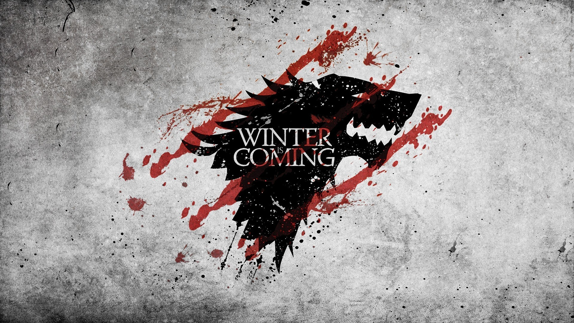 1920x1080 grunge, Winter Is Coming, House Stark, Game Of Thrones Wallpapers HD /  Desktop and Mobile Backgrounds