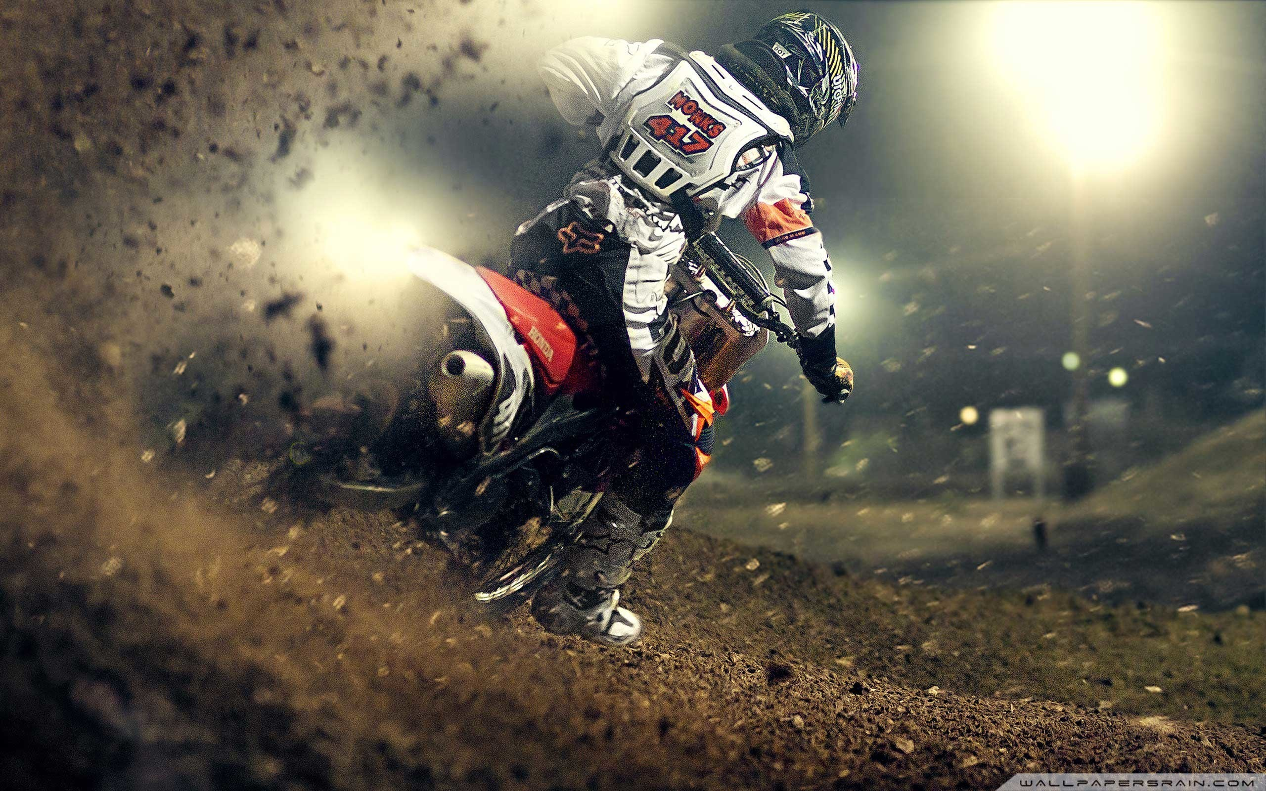 3840x2160 Kawasaki Motocross Dirt Bikes Ultra HD 4K Wallpapers