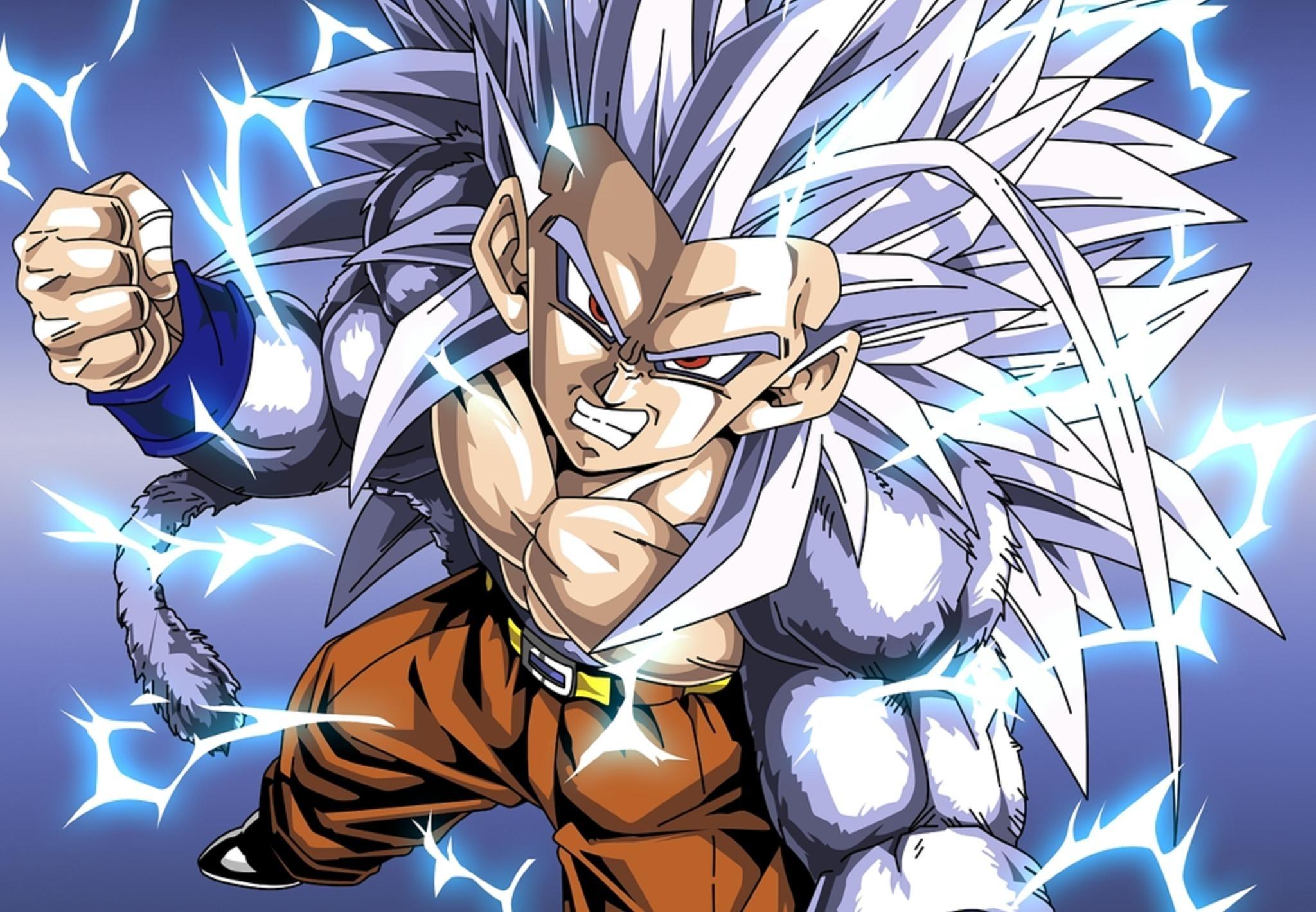 Gokus Dad Turns Ssj2 Saiyan God
