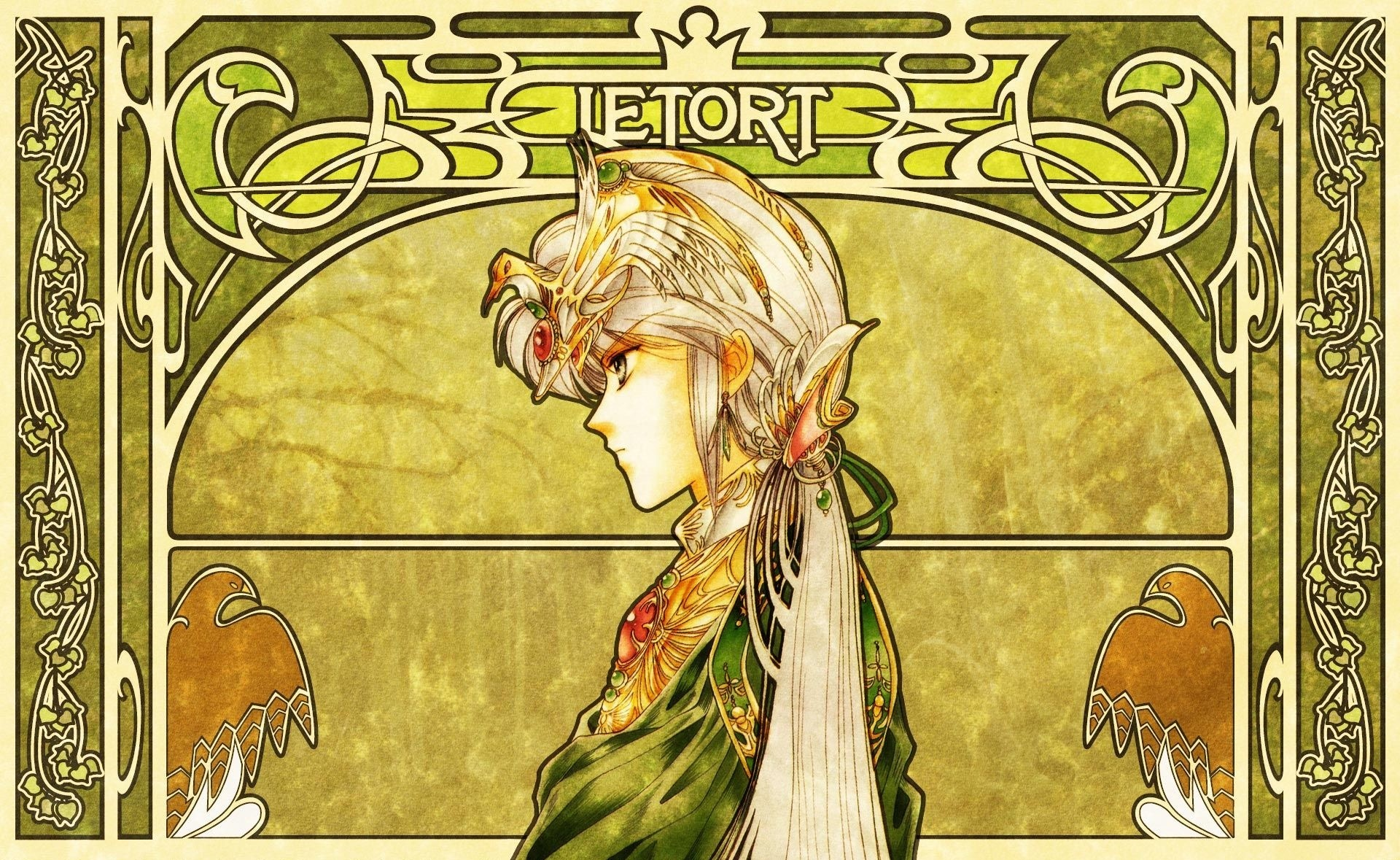 1920x1179 Art Nouveau Wallpapers Free