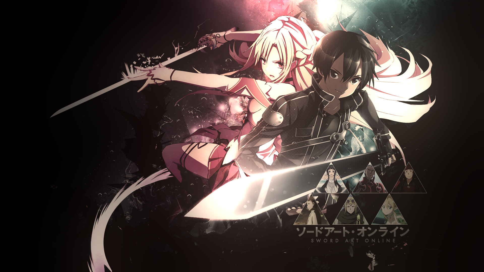 1920x1080 Sword Art Online Wallpaper