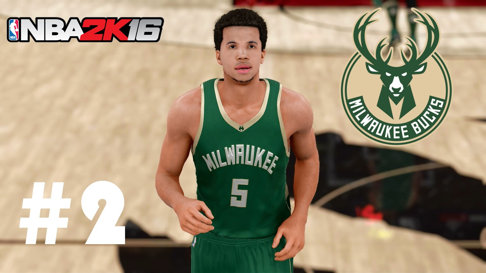 1920x1080 NBA 2K16 Milwaukee Bucks MyLeague | MCW Assist Master! | Episode 2 - YouTube