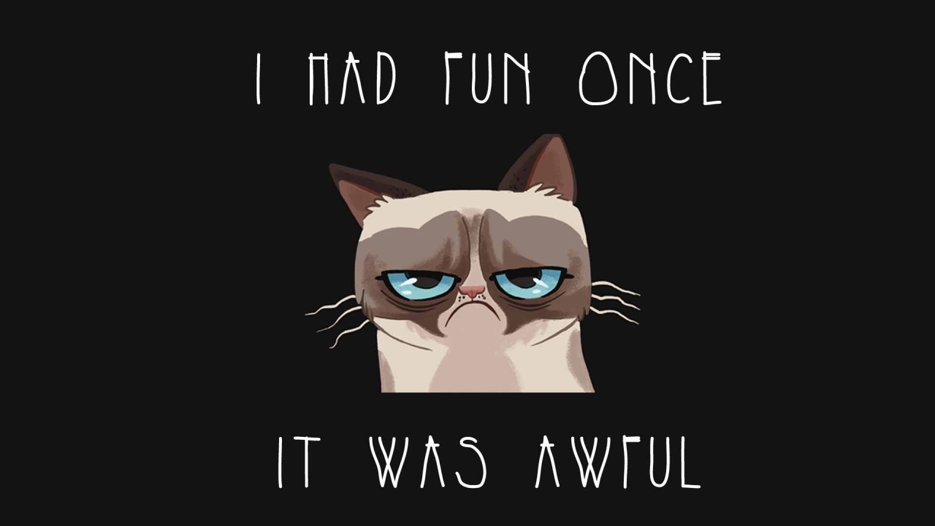 1920x1080  Grumpy Cat Quotes Funny Wallpaper
