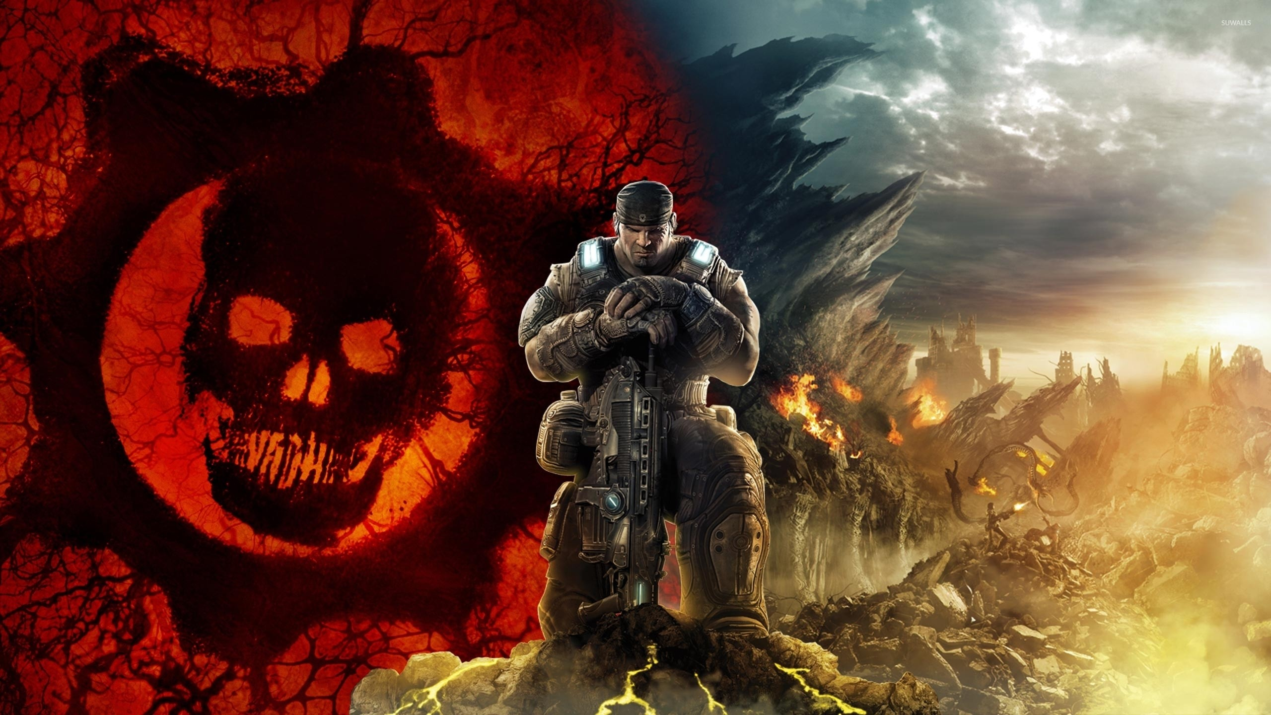 2560x1440 Gears of War 3 [15] wallpaper