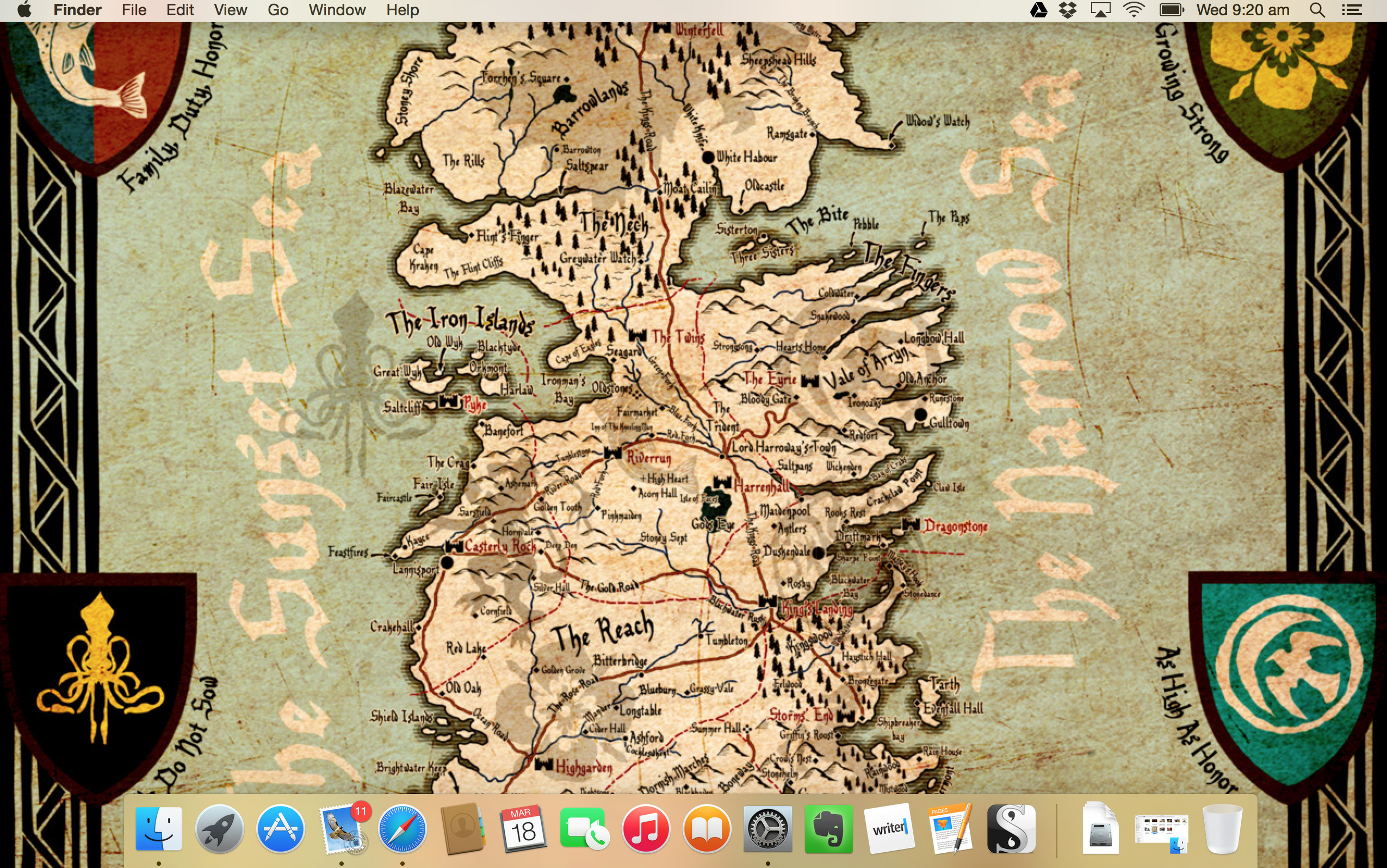Westeros Karte Hd.Game Of Thrones Map Wallpaper 56 Images