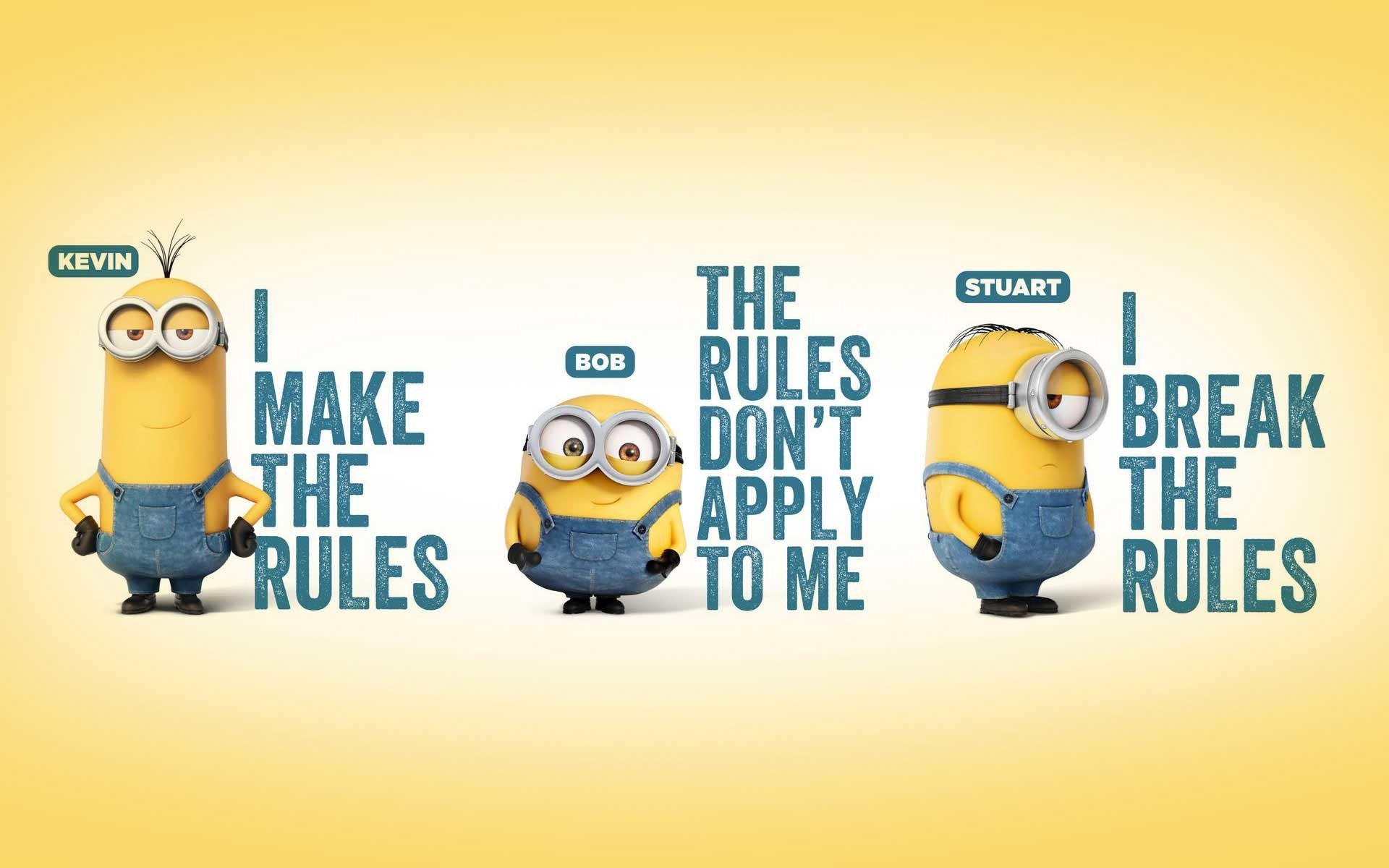 1920x1200 Cute Minion HD Wallpaper download free | PixelsTalk.Net