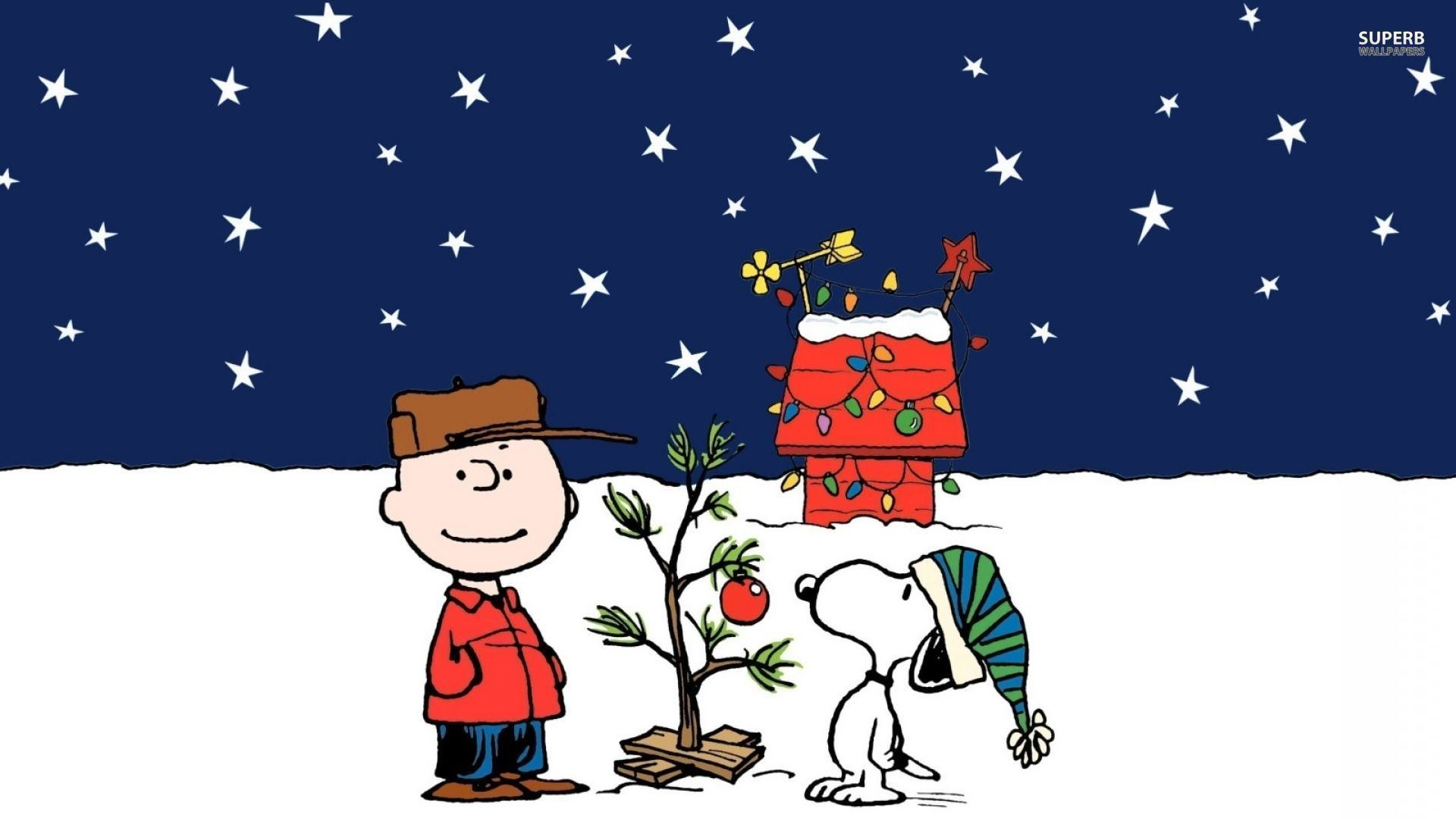 1920x1080 Wallpapers For > Charlie Brown Snoopy Christmas Wallpaper