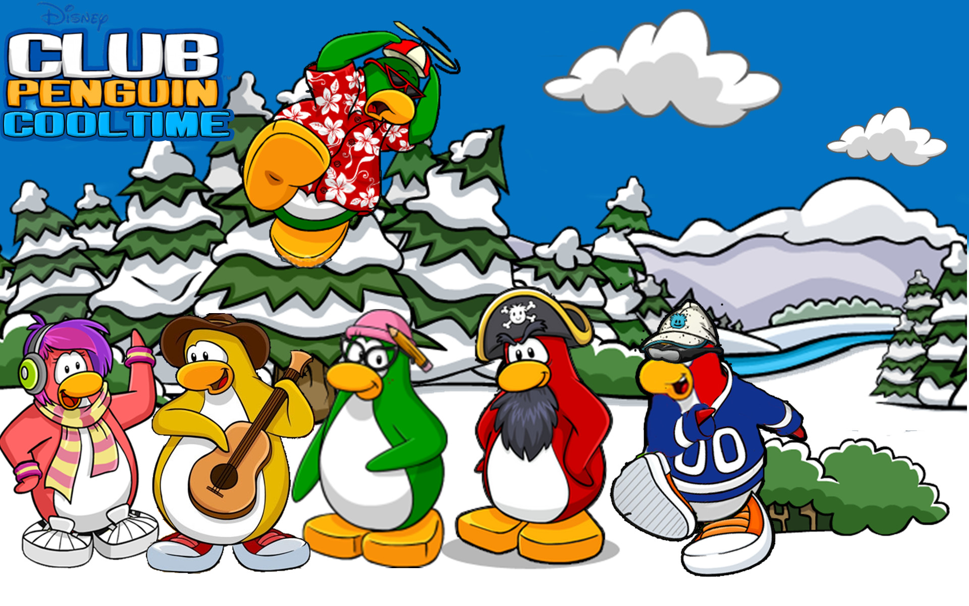 1920x1200 171 best Club Penguin Printables images on Pinterest | Club penguin,  Penguins and Parties