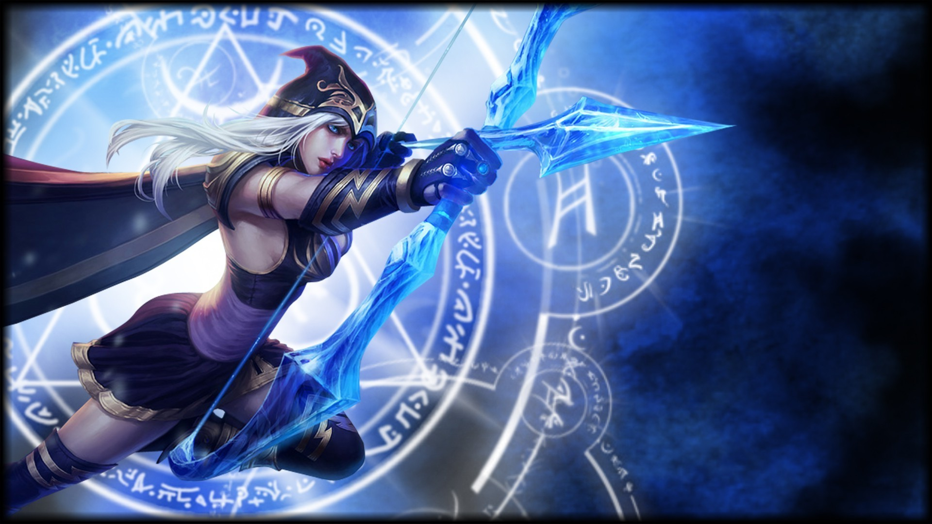 League Of Legends Ashe Wallpaper 81 Images