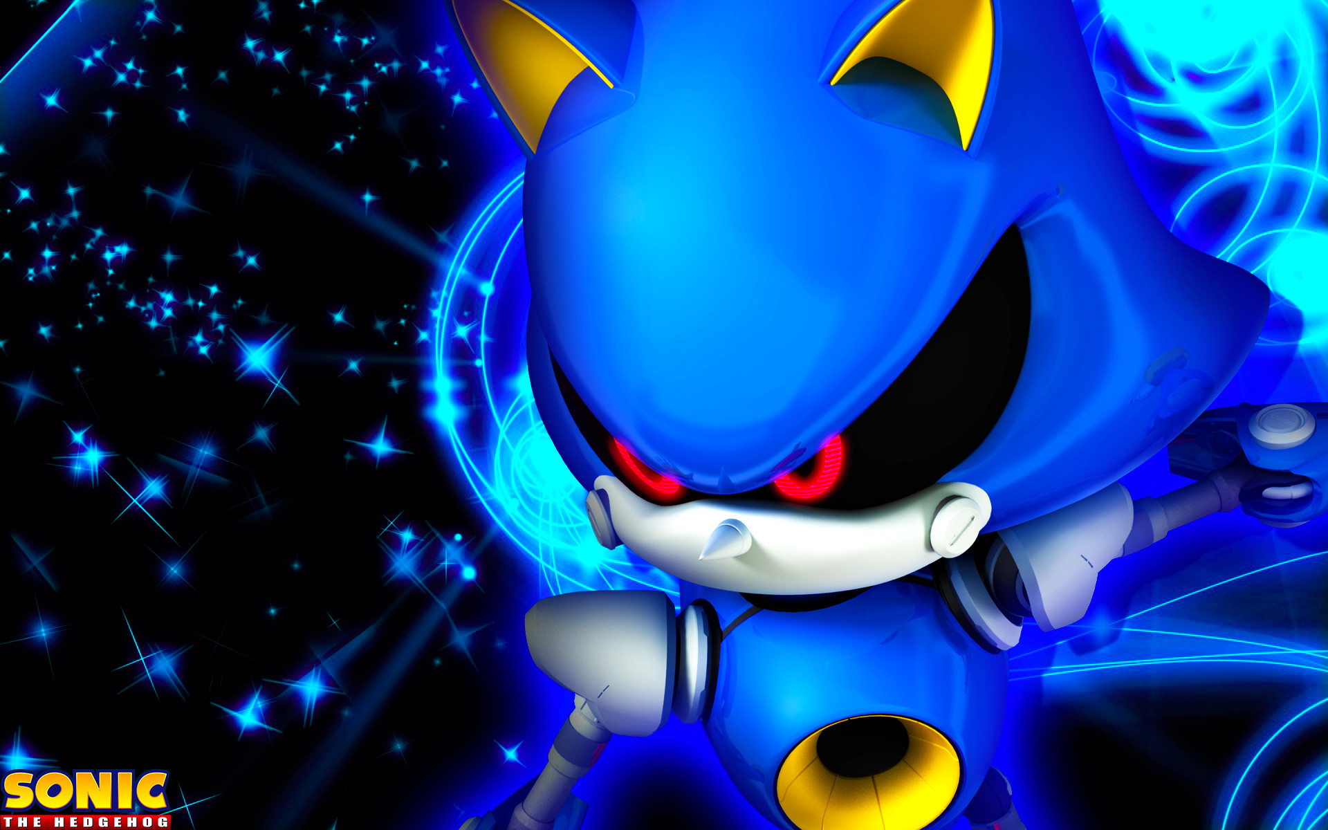 1920x1200 metal sonic wallpaper by sonicthehedgehogbg customization wallpaper .