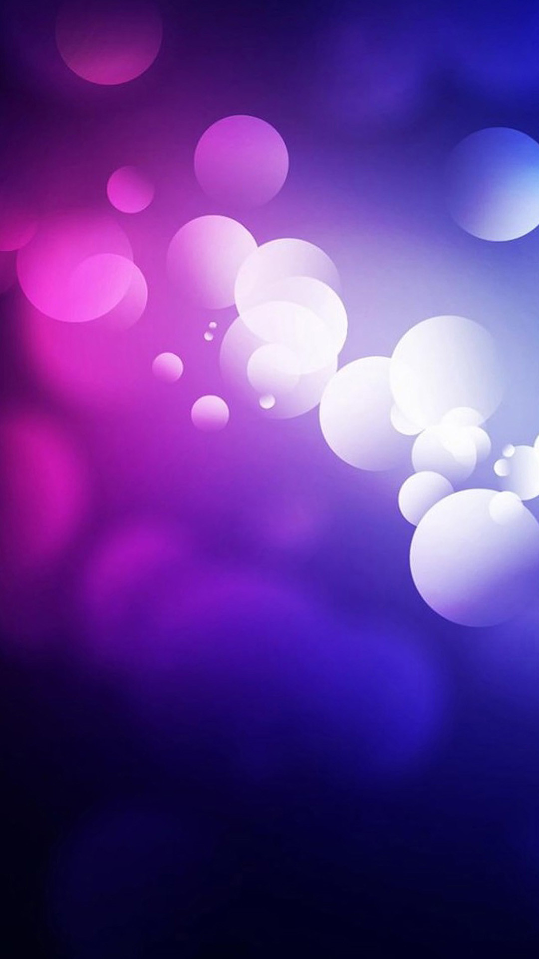 1080x1920 Purple Abstract Bubbles #iPhone #6 #plus #Wallpaper