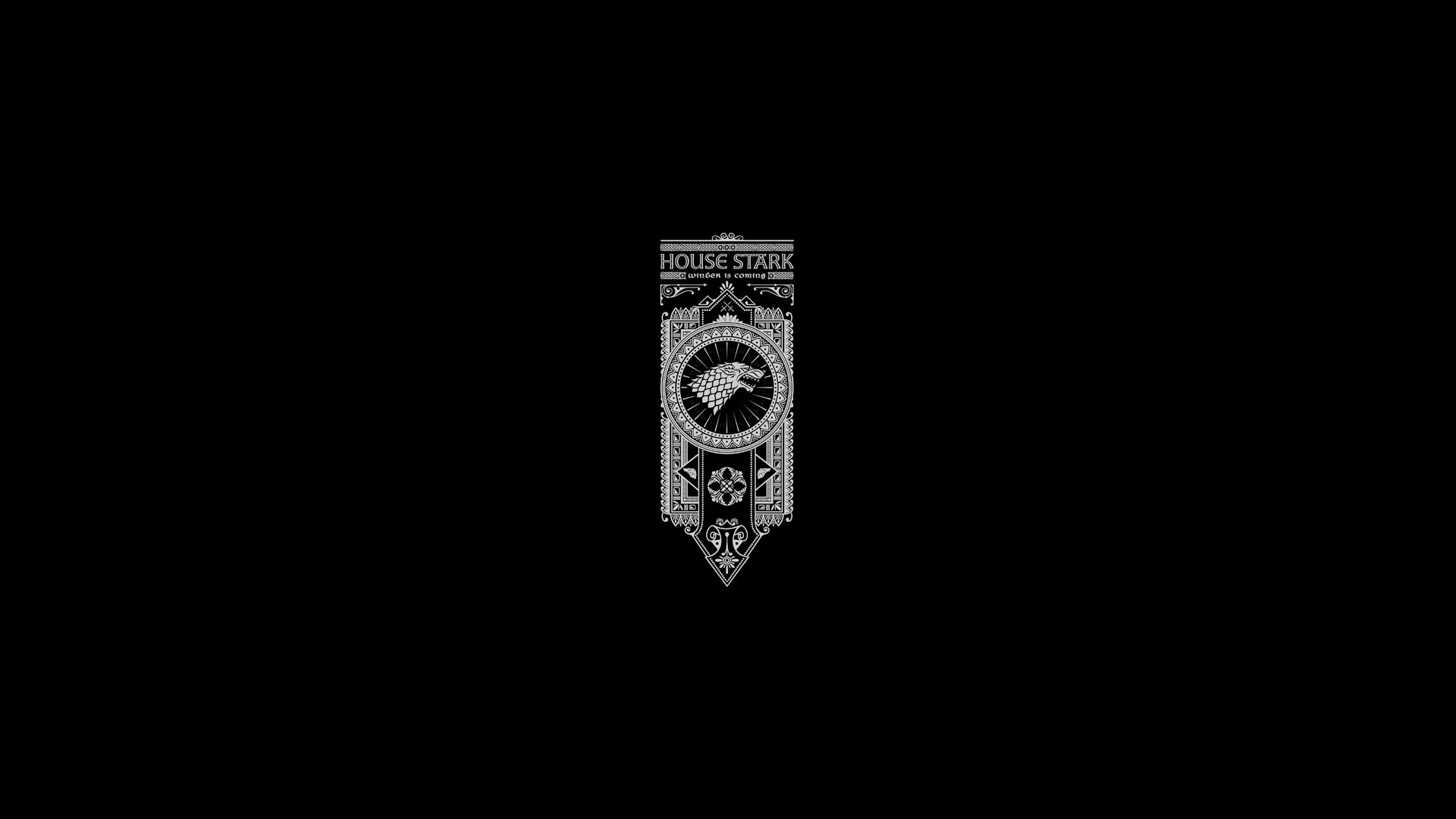 1920x1080 House Stark - Game Of Thrones 835805