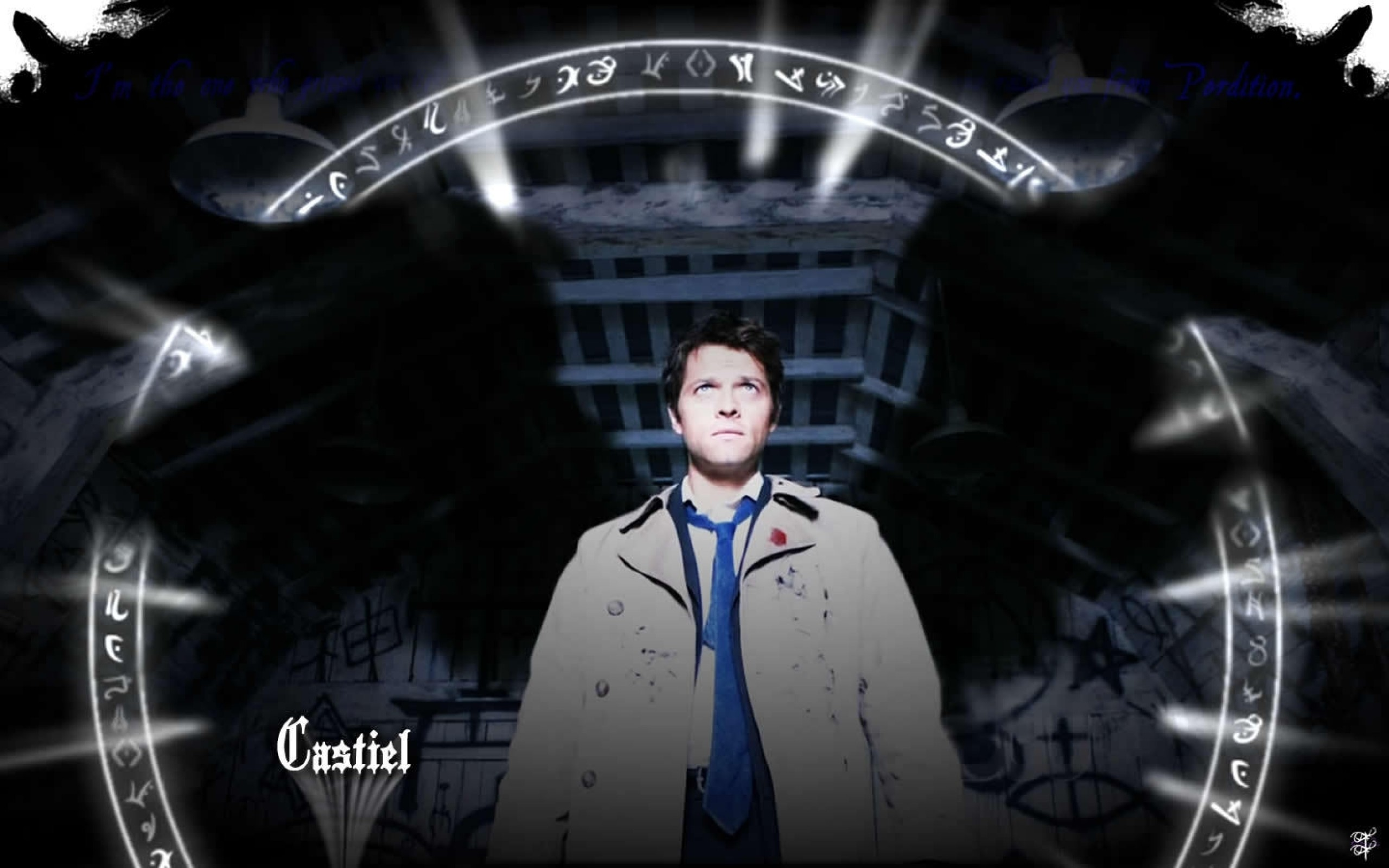 2560x1600 Free Castiel Supernatural Iphone Backgrounds Download - wallpaper.wiki ...