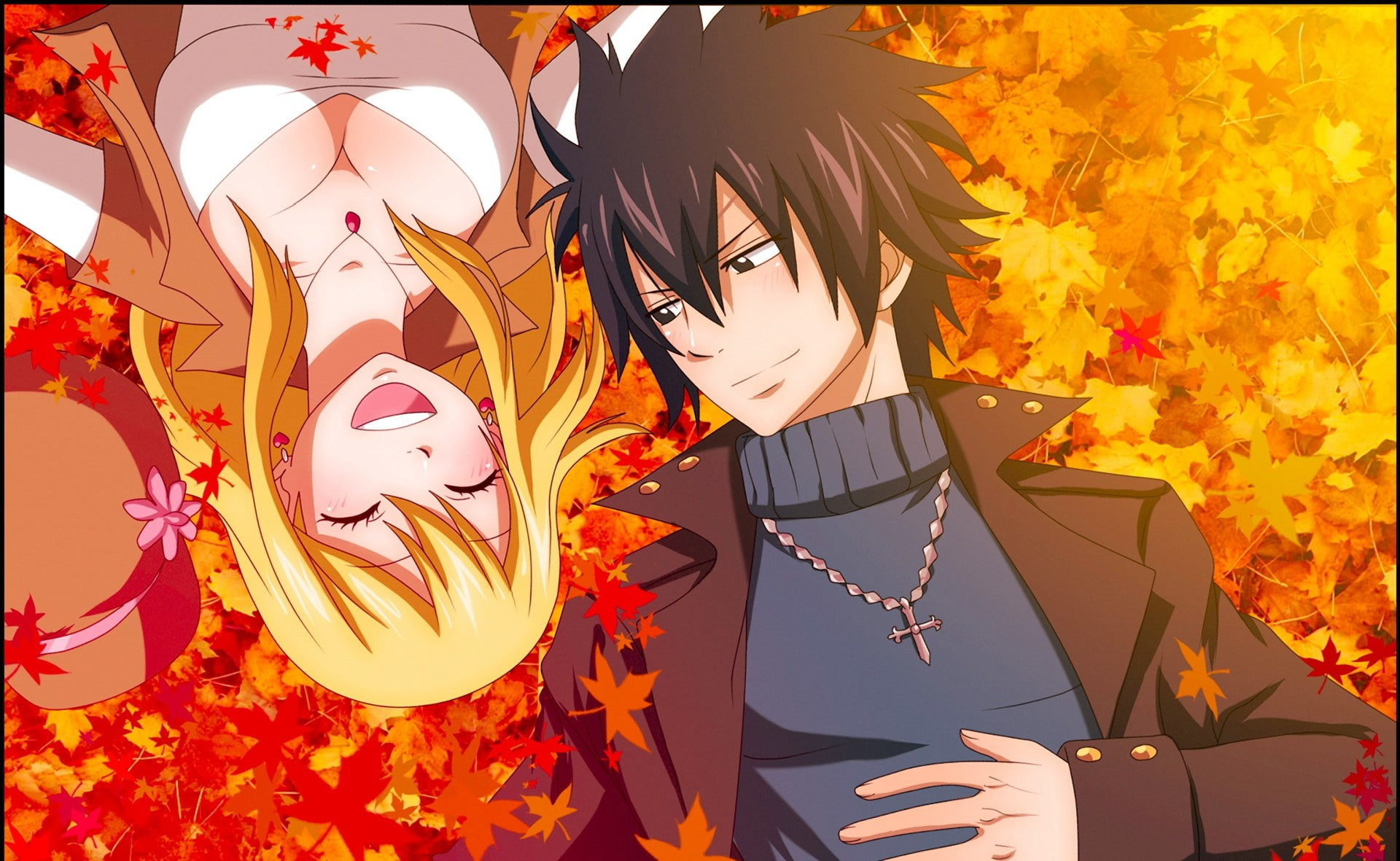 1920x1181 Fairy Tail anime, fairy tale about the tail, Gray Fullbuster
