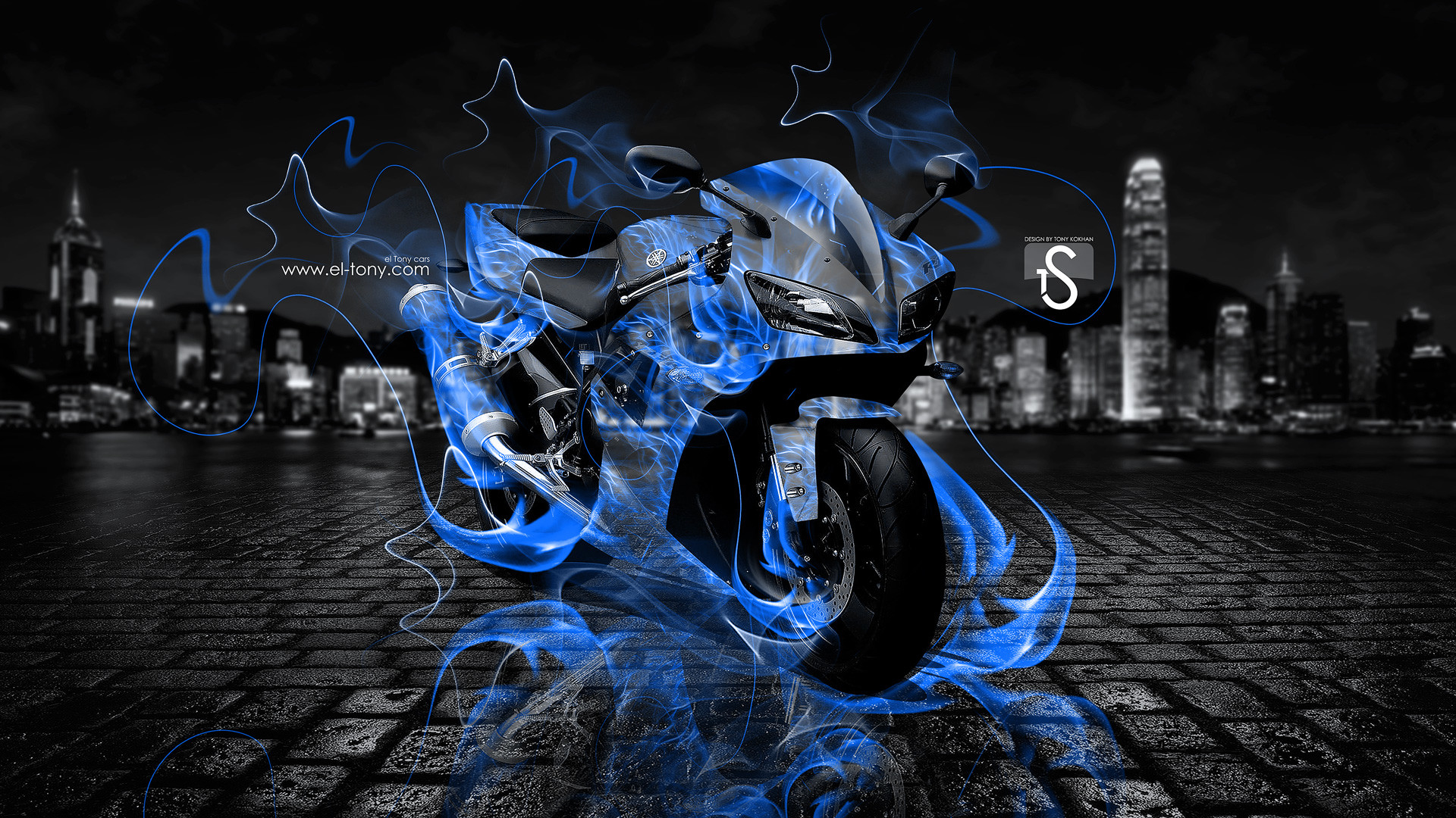 1920x1200 Ghost Rider Comics Movies Dark Skull Skeleton Fire Wallpaper