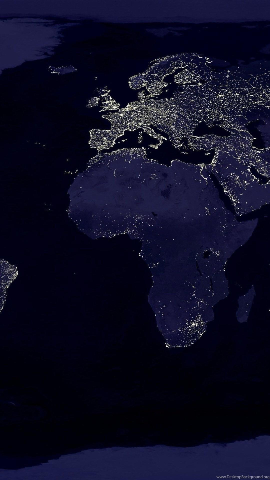 World At Night Wallpaper 73 Images