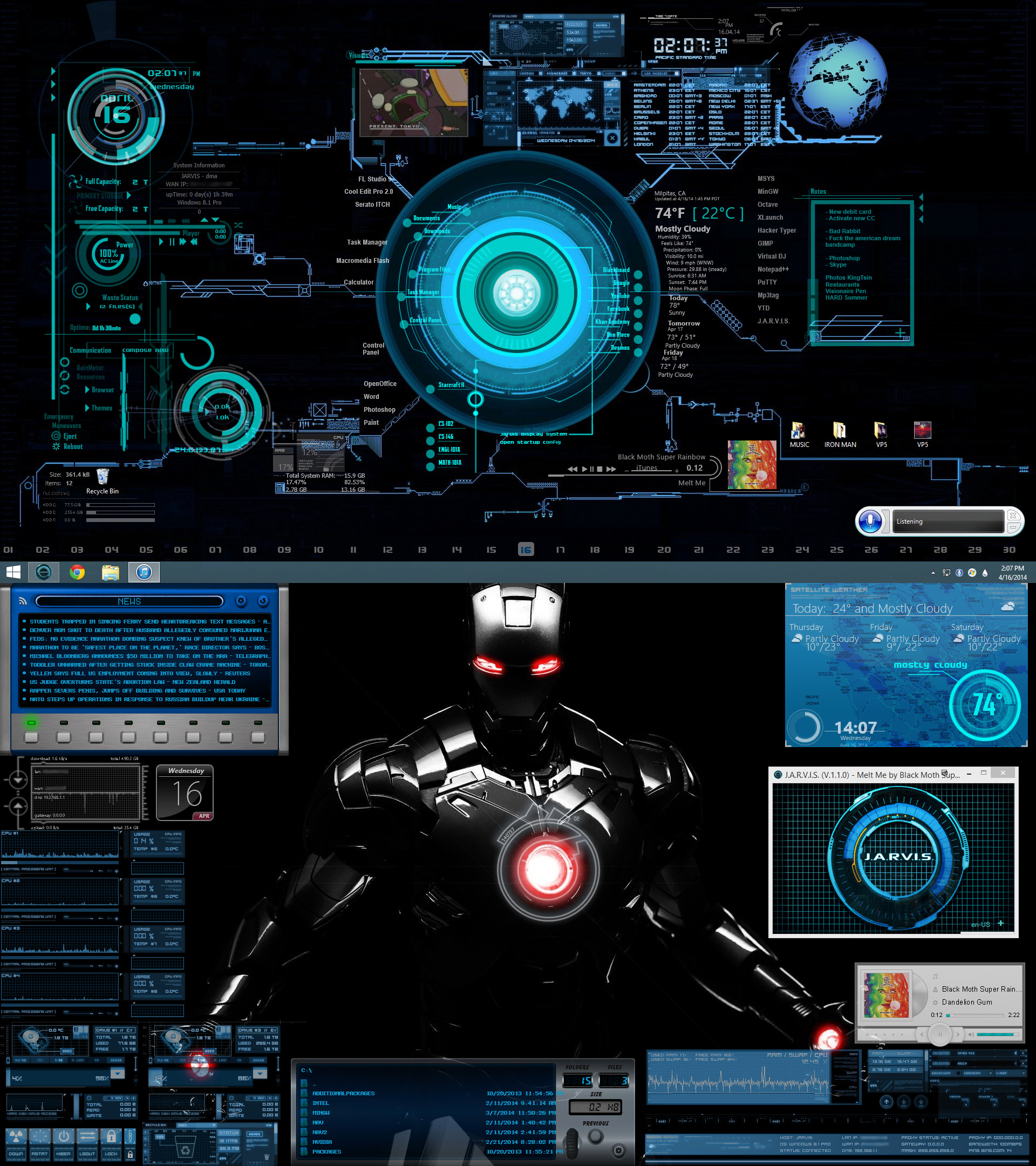Iron Man Jarvis Live Wallpaper (78+ Images