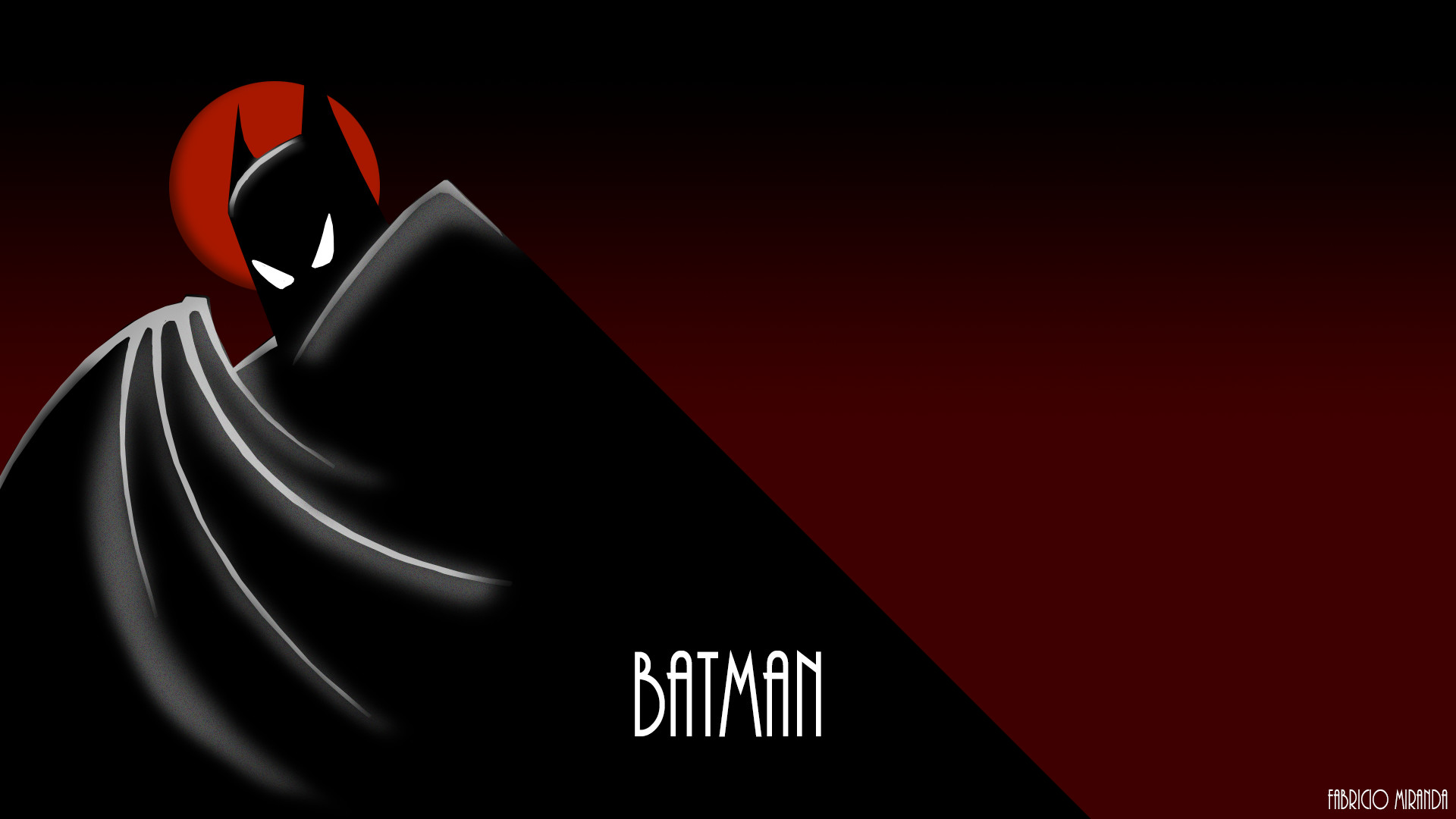 1920x1080 Batman Animated Serie 90's Wallpaper by FabricioUli97 Batman Animated Serie  90's Wallpaper by FabricioUli97