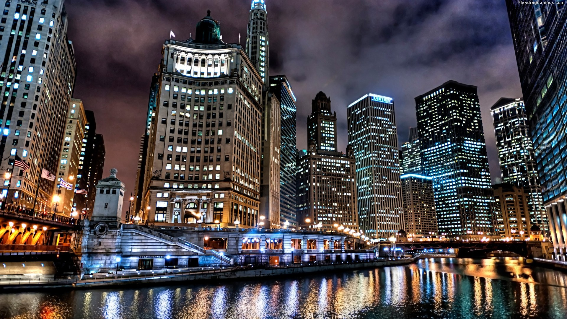 1920x1080 Wallpaperwiki Chicago Skyline Pictures PIC WPE0011281