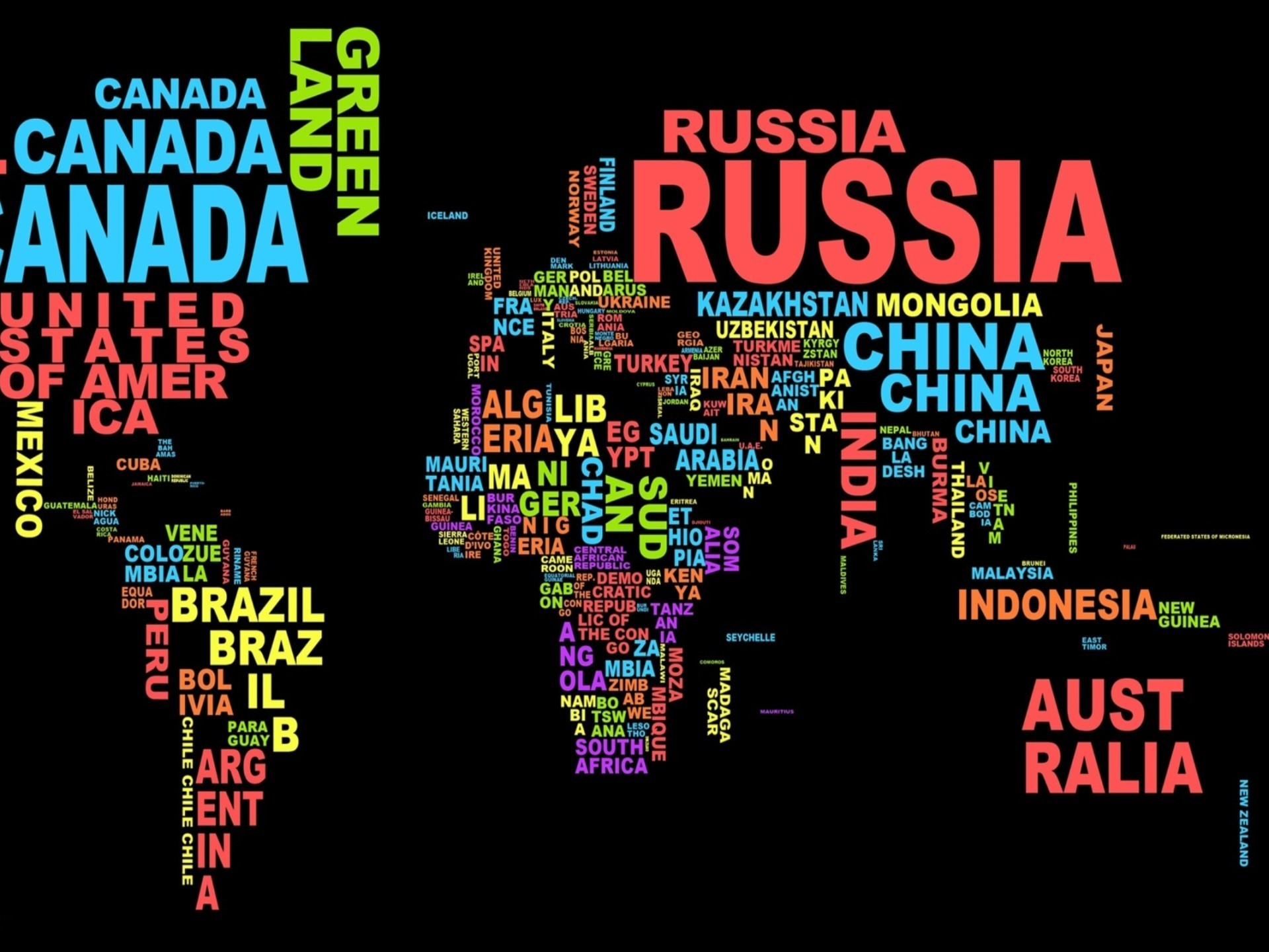 1920x1440  Country Name World Map Desktop Wallpaper