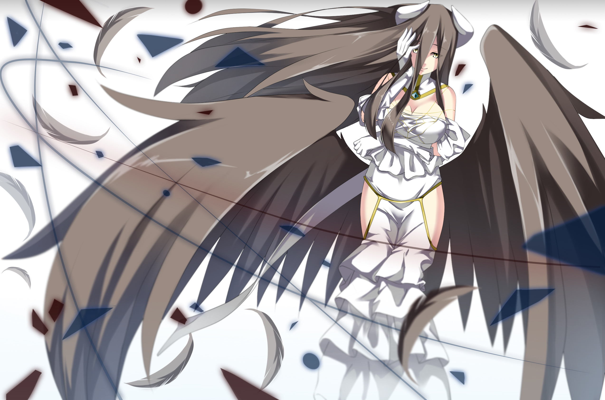 2547x1684 Albedo Overlord · HD Wallpaper | Background ID:648887