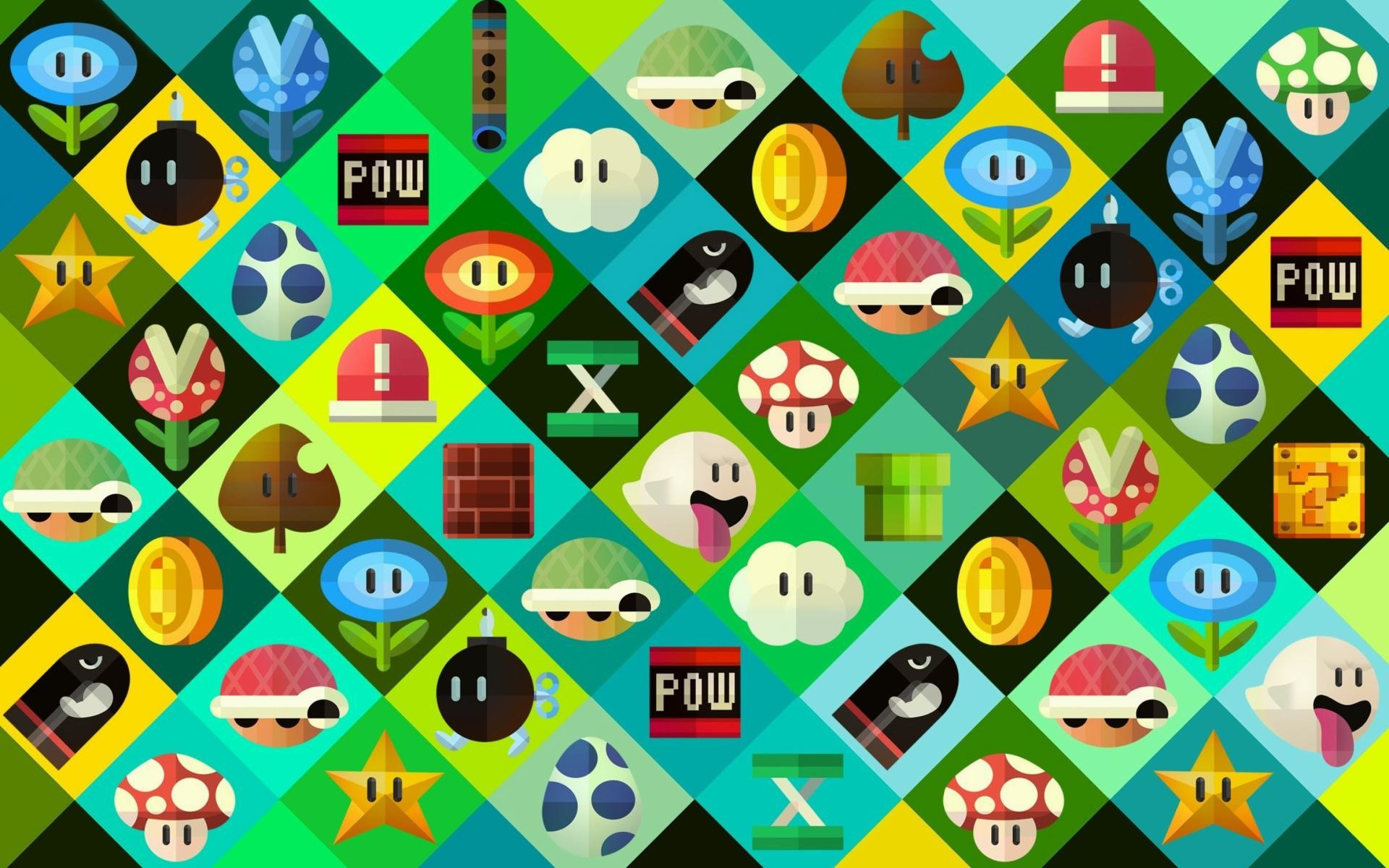 1920x1200 wallpaper.wiki-Super-Mario-power-ups-Abilities-in-