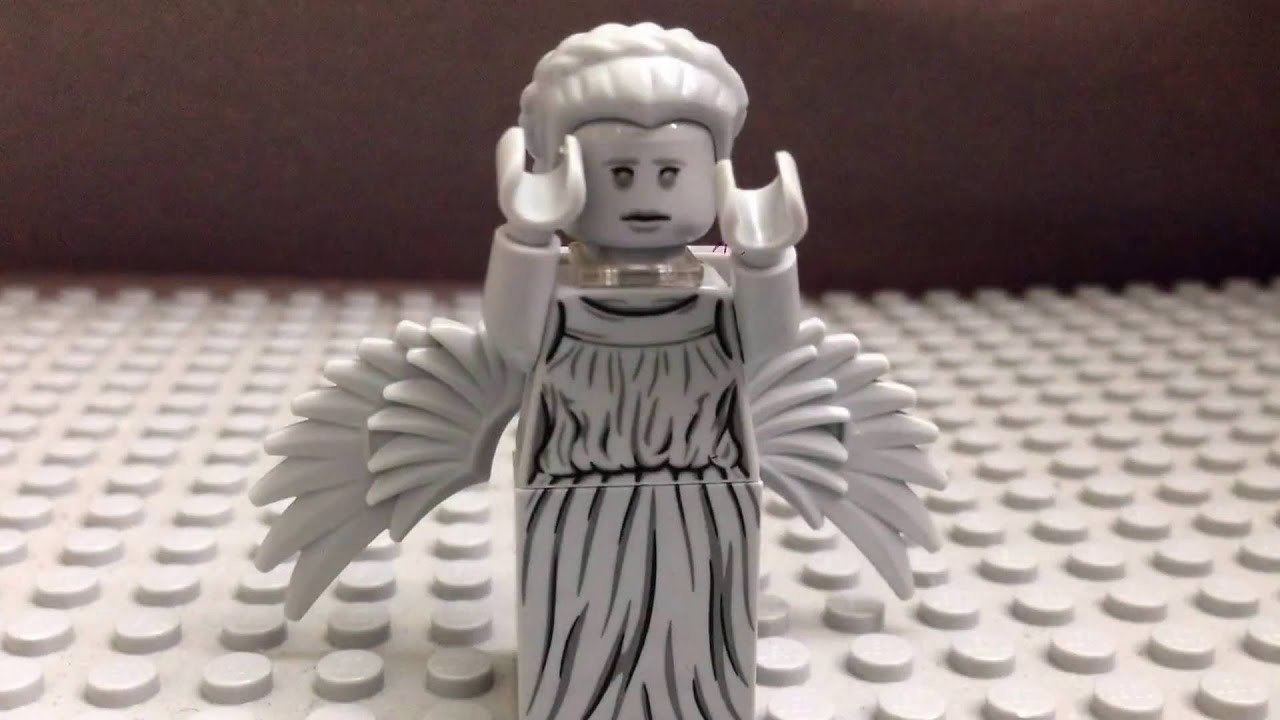 1920x1080 The Weeping Angel | Lego Doctor Who Part 1