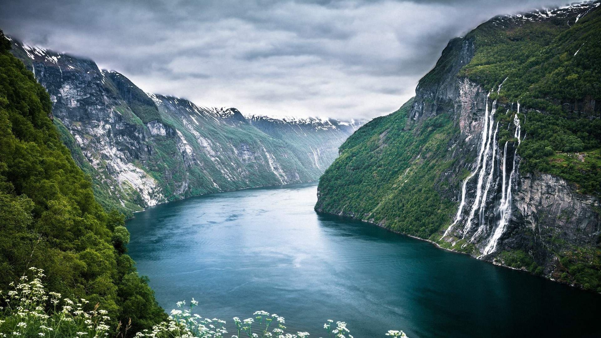 1920x1080 Best wallpaper gallery with the beautiful view of mountains in Norway fjord  wallpapers and HD wallpapers. We collected full High Quality pictures and  ...