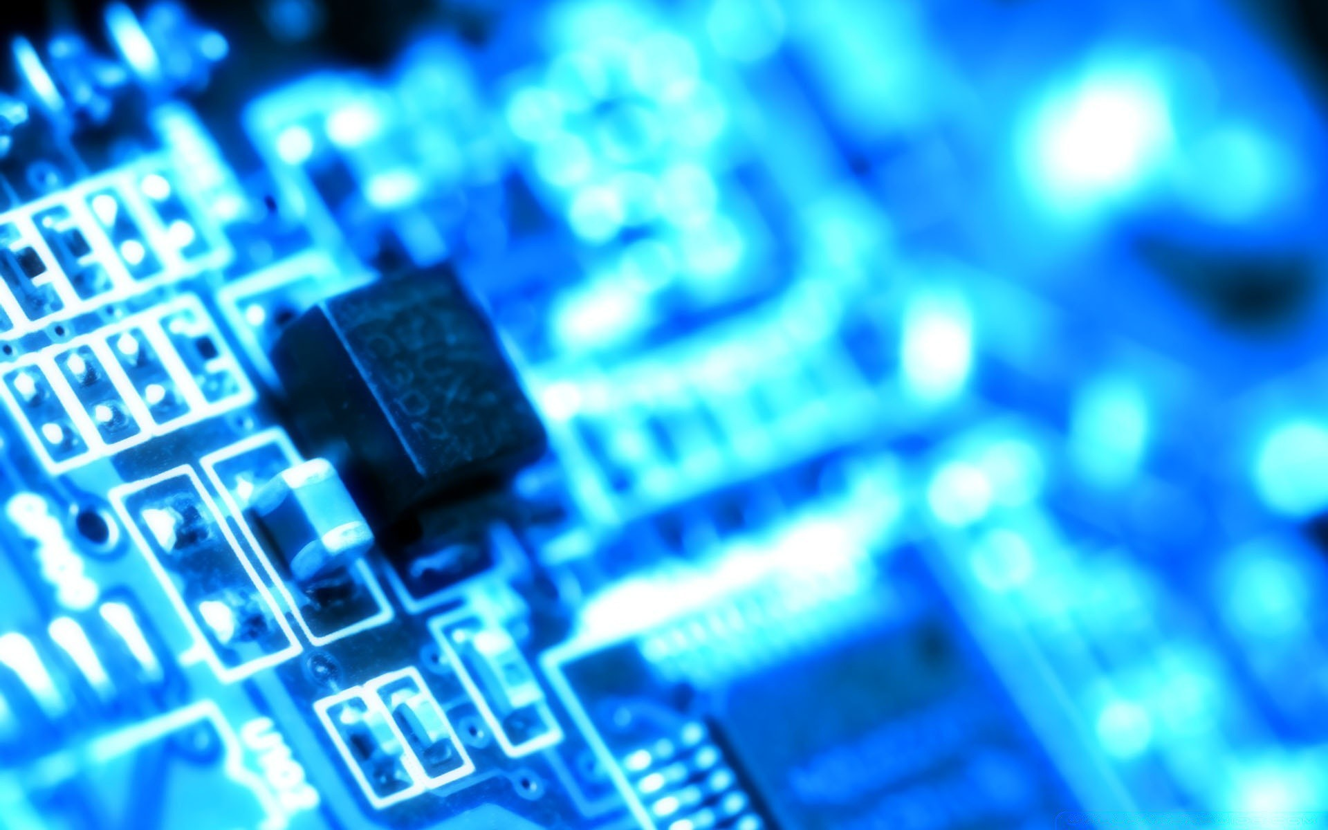 1920x1200 hardware electronics data technology computer internet connection chip cpu  blur semiconductor futuristic technical school communication detail