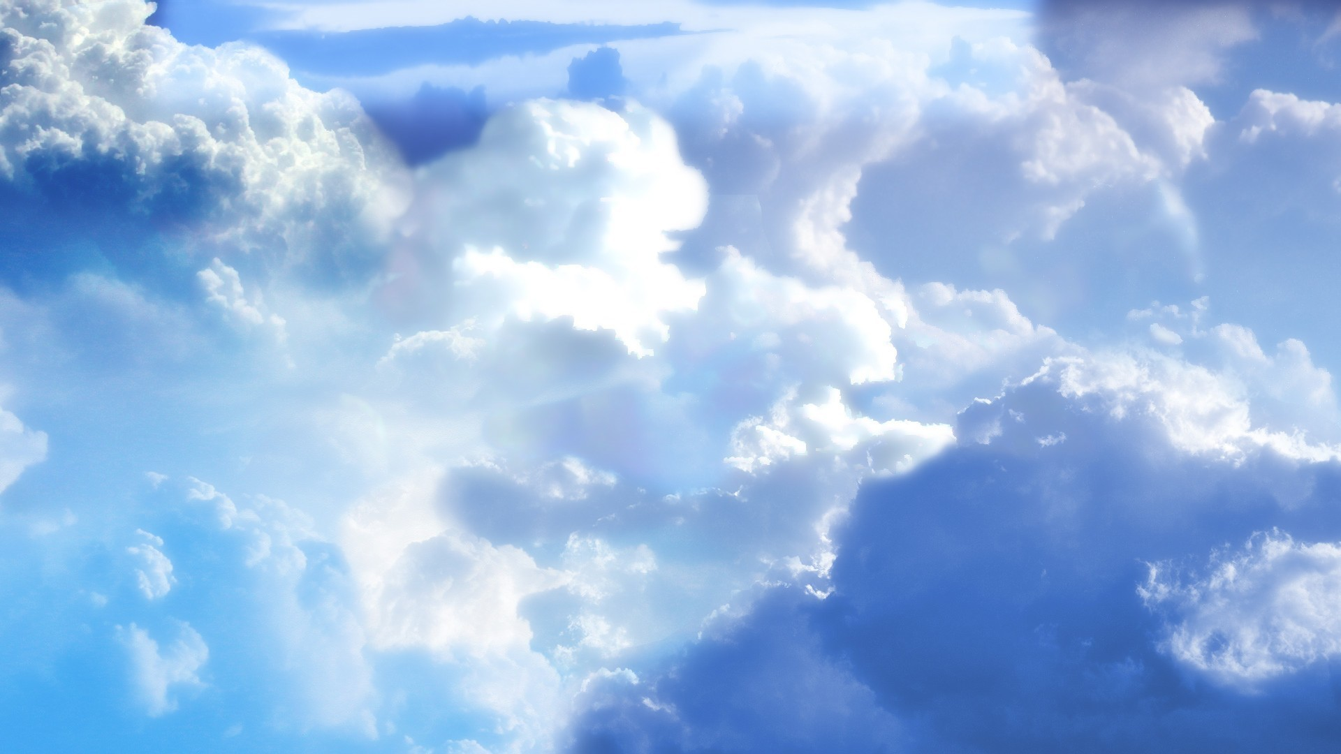 Blue Sky With Clouds Wallpaper (56+ images)