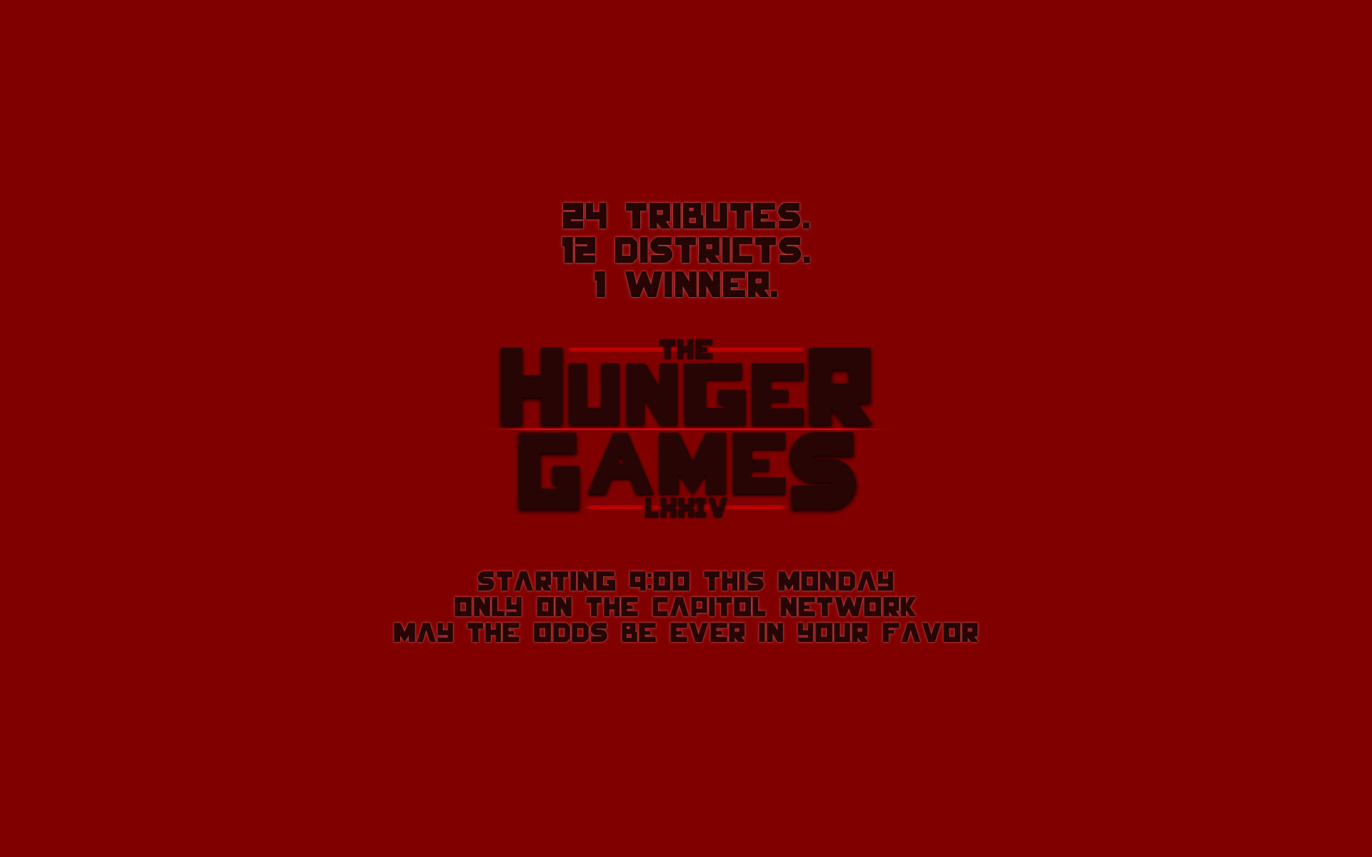 1920x1200 Movie - The Hunger Games Wallpaper