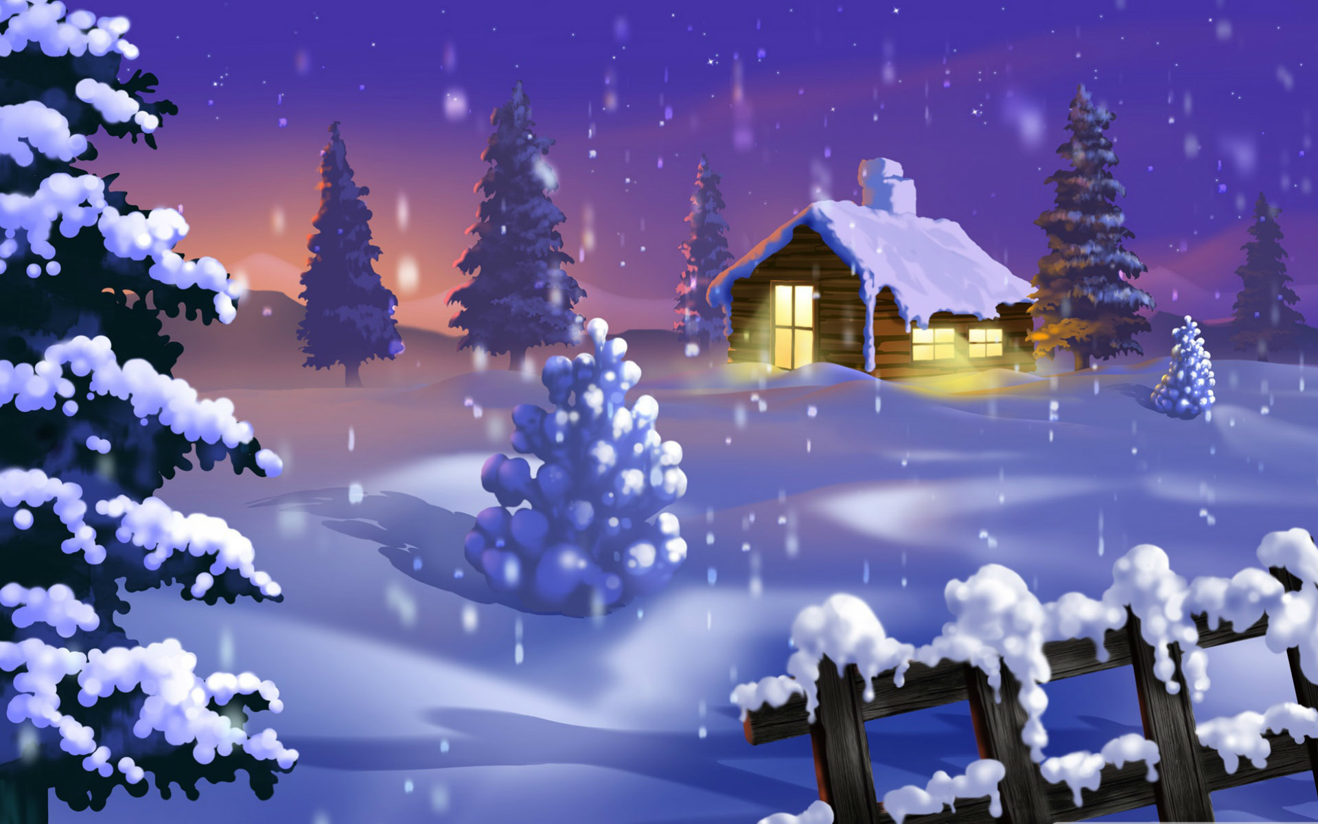 2560x1440 cozy christmas scenes wallpaper main